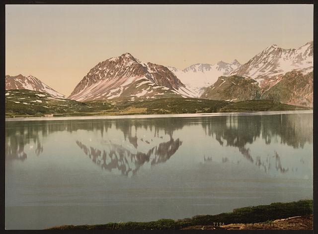 Dette bildet er fra Lyngenfjorden               The Library of Congress/Thetravelinspector