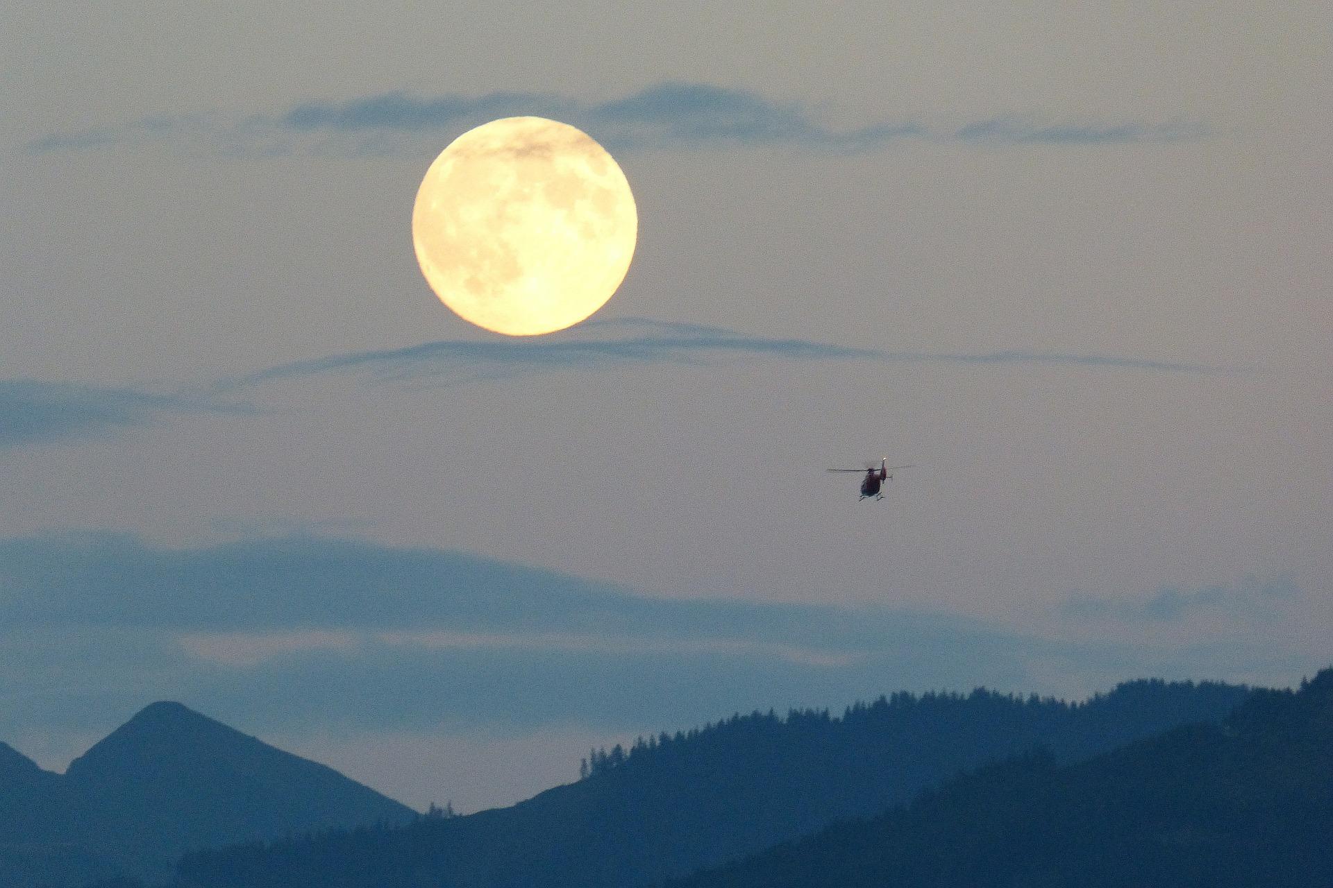 Start jakten på supermånen.