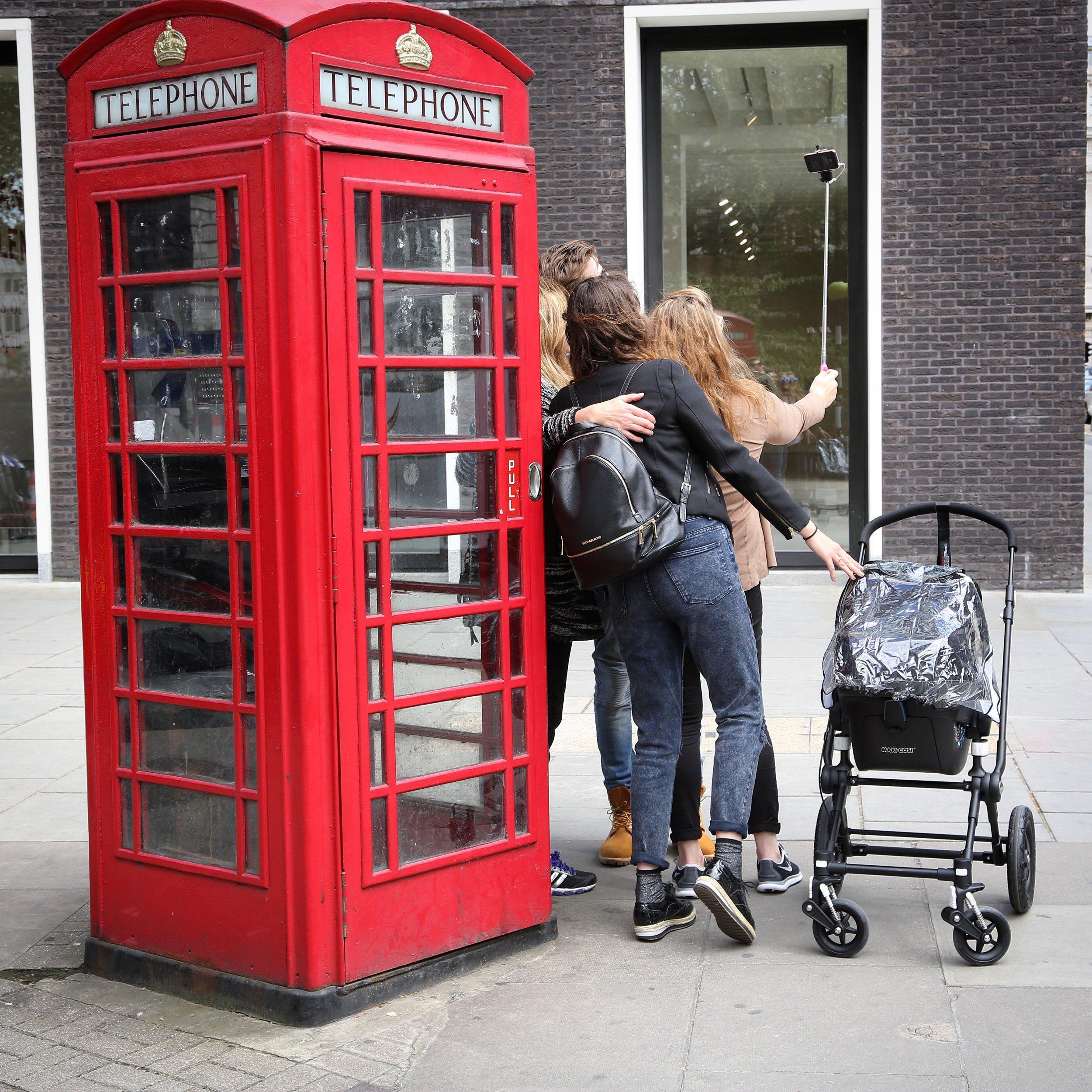 Velkommen til London.                               Foto: Odd Roar Lange