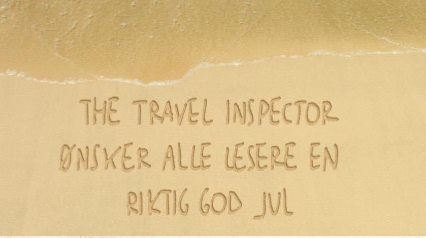 hilsen i sanden- thetravelinspector
