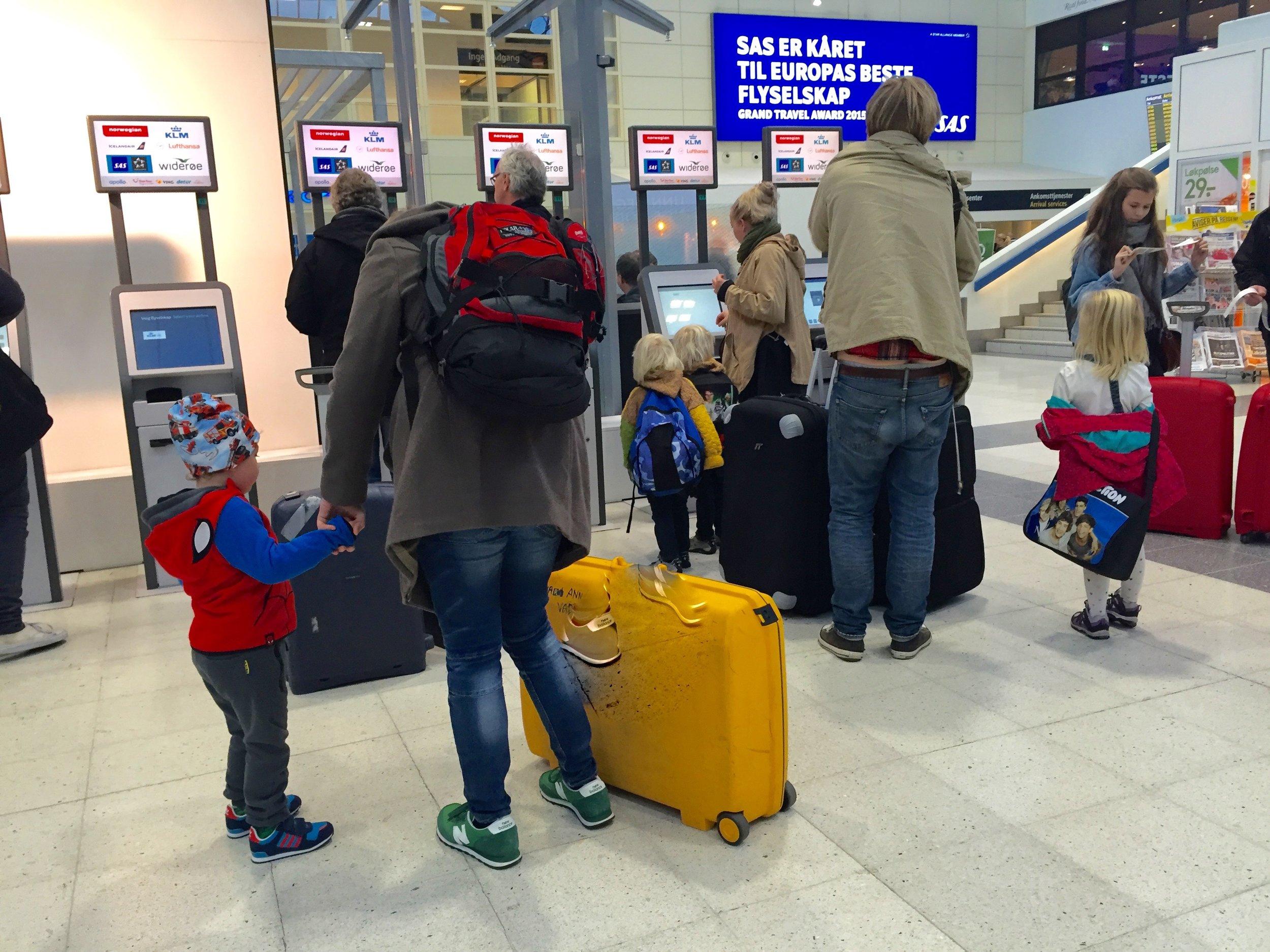 Les de smarte tipsene før du reiser med små barn.         Foto: Odd Roar Lange