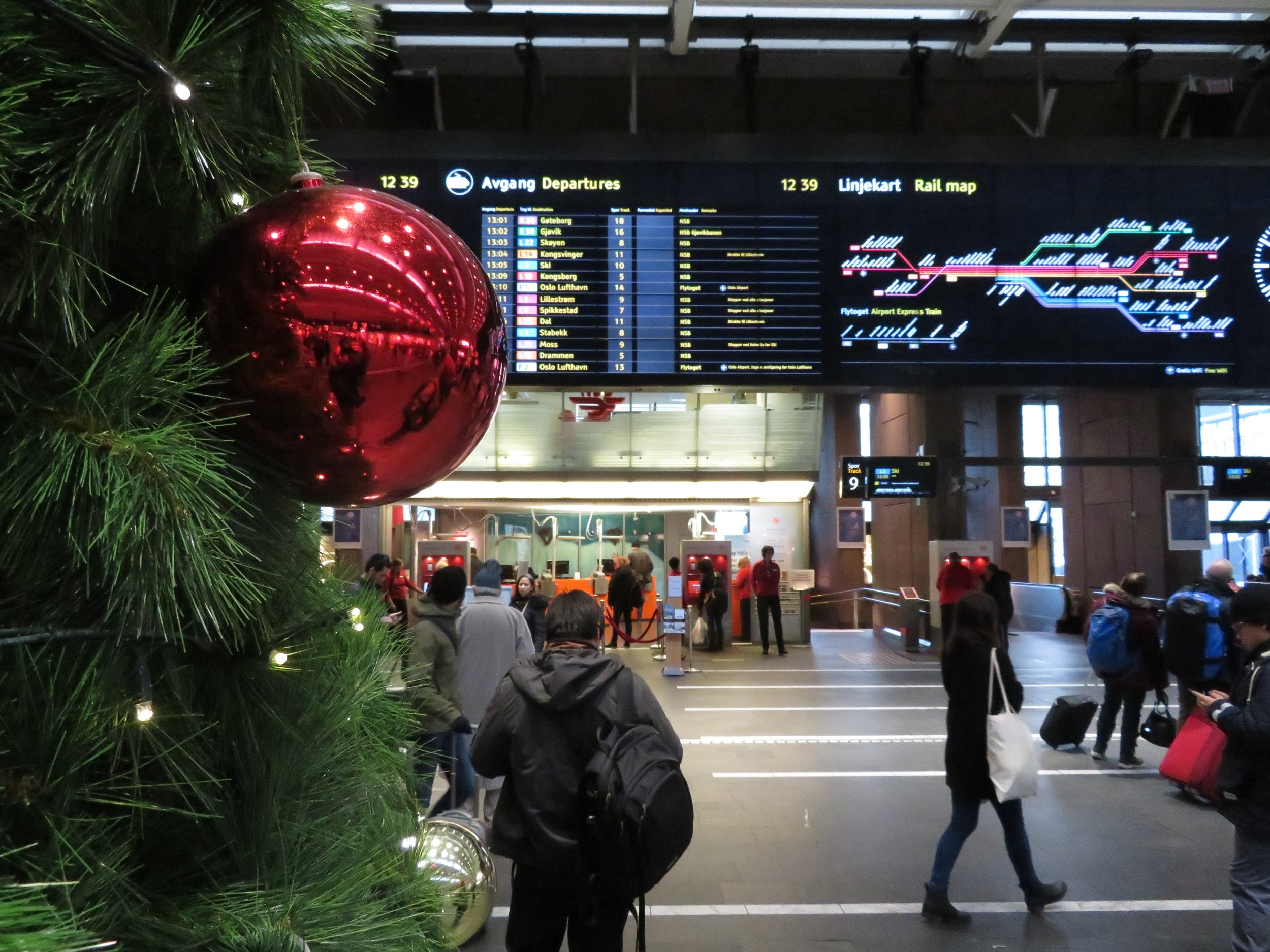 Gi bort en reiseglede til jul.                       Foto: Odd Roar Lange