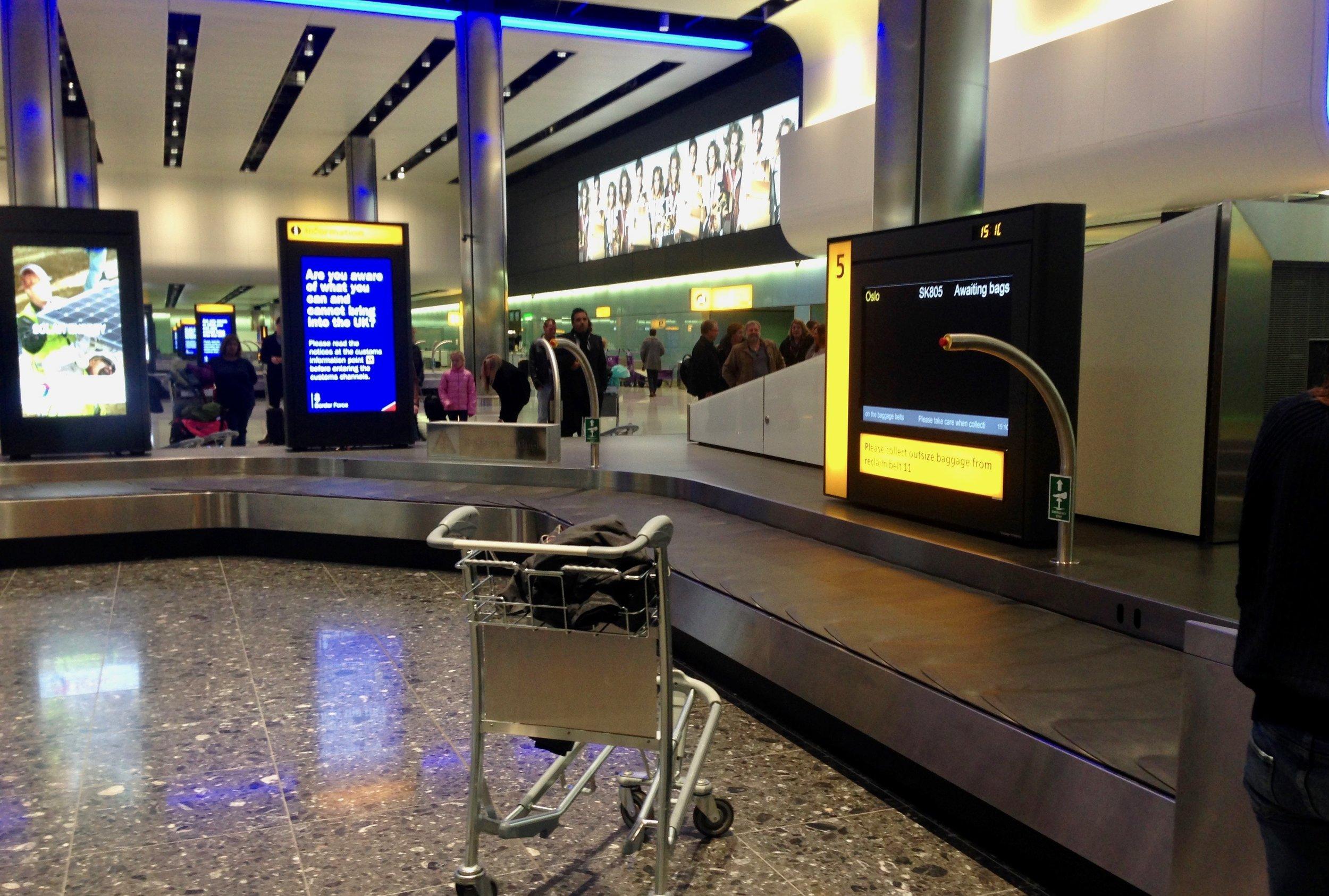 Heathrow airport                                 Foto: Odd Roar Lange