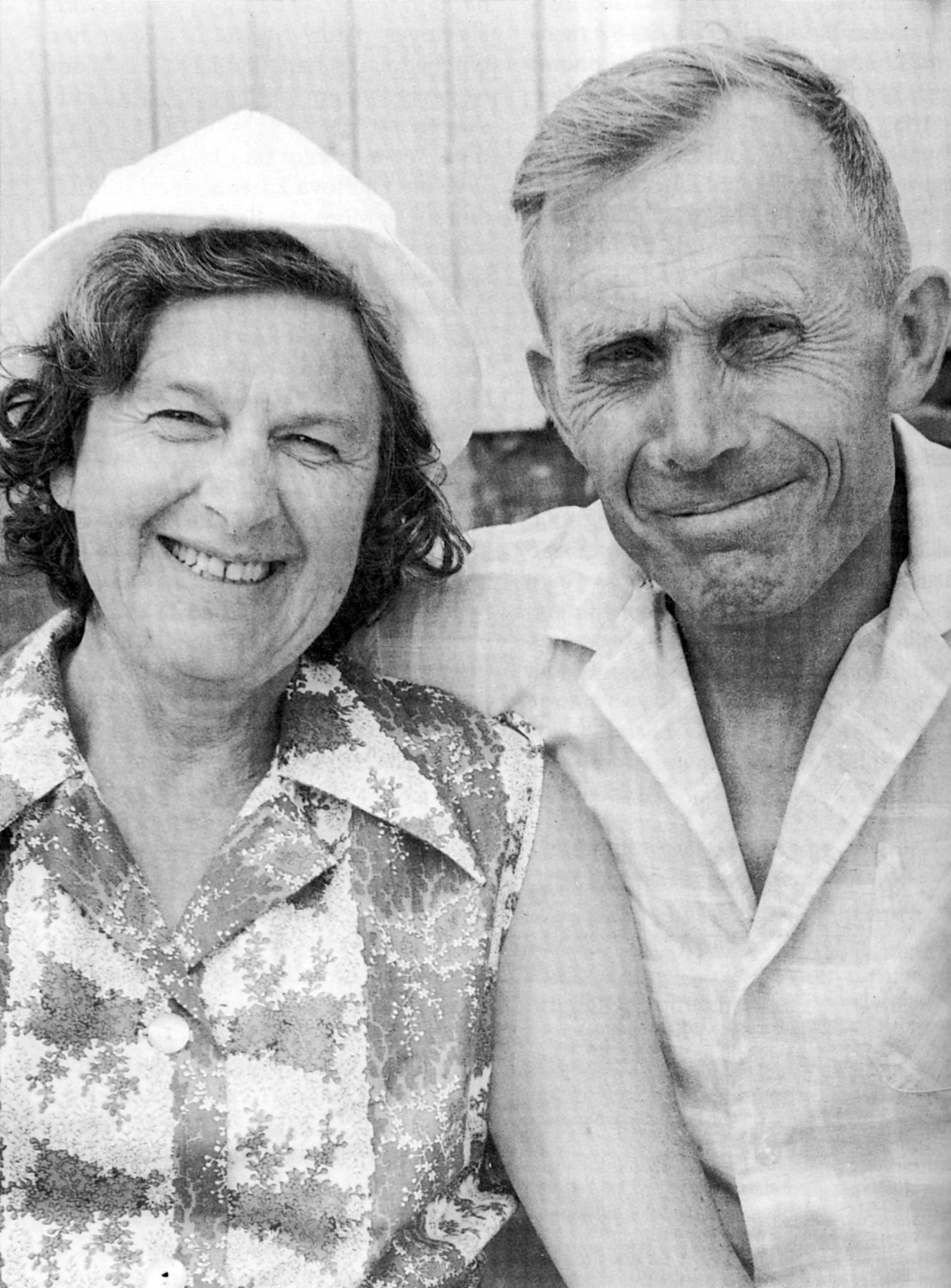 Karl og Ragna Trengereid. Foto: Kirsten «Kisko» Skotheim