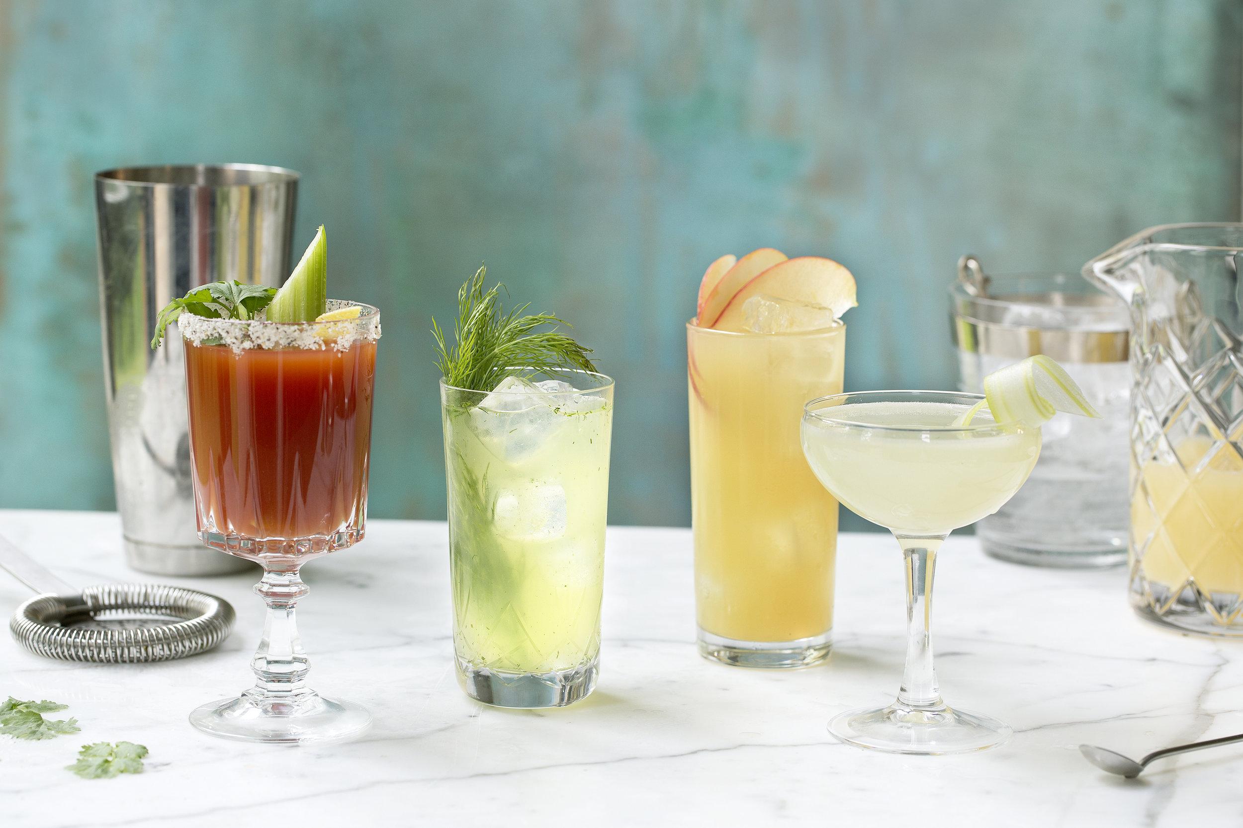 Er du klar for noen deilige sommer-cocktails ?                  Foto: Nadin Martinuzzi