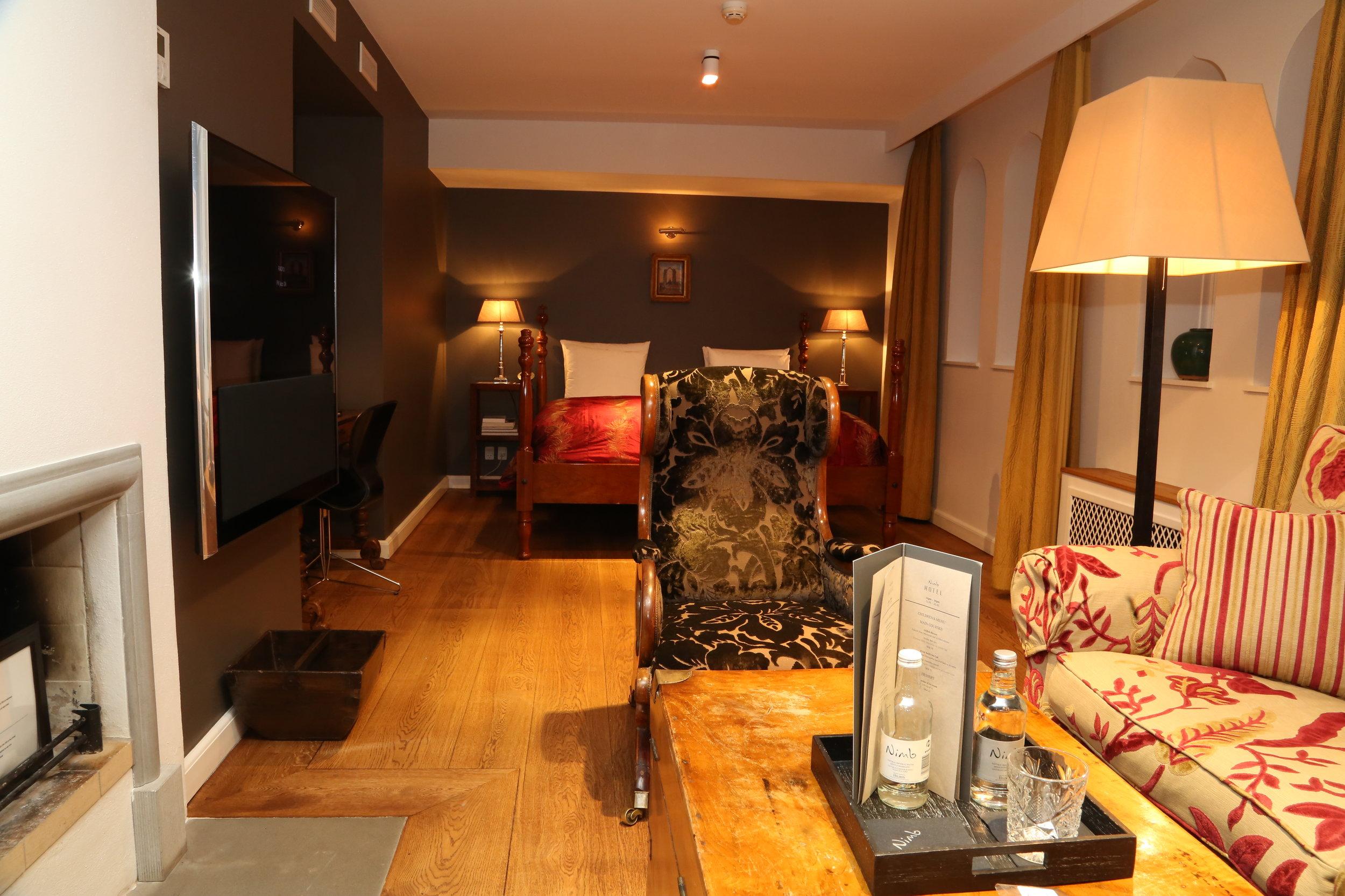 Det er aldri feil med et riktig bra hotellrom. Foto: Odd Roar Lange