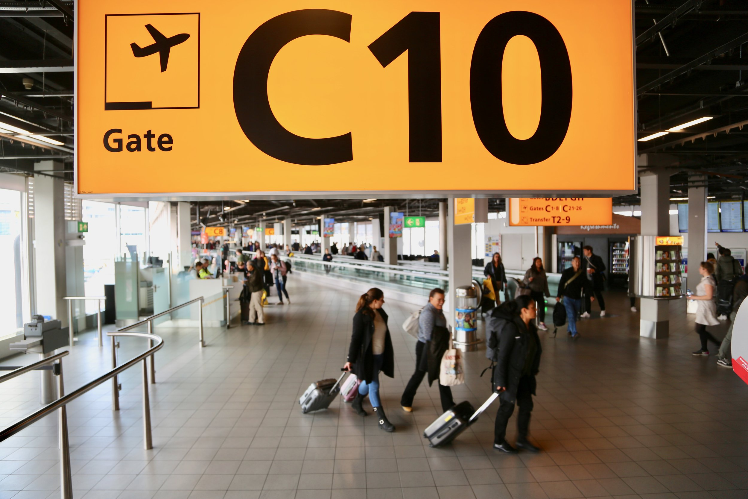 Klarer du den store flyplasstesten?              Foto: Odd Roar Lange