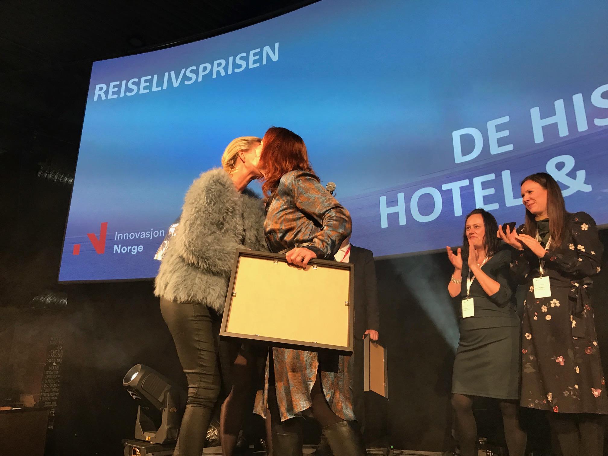 Fra prisutdelingen i Oslo.                       Foto: Odd Roar Lange