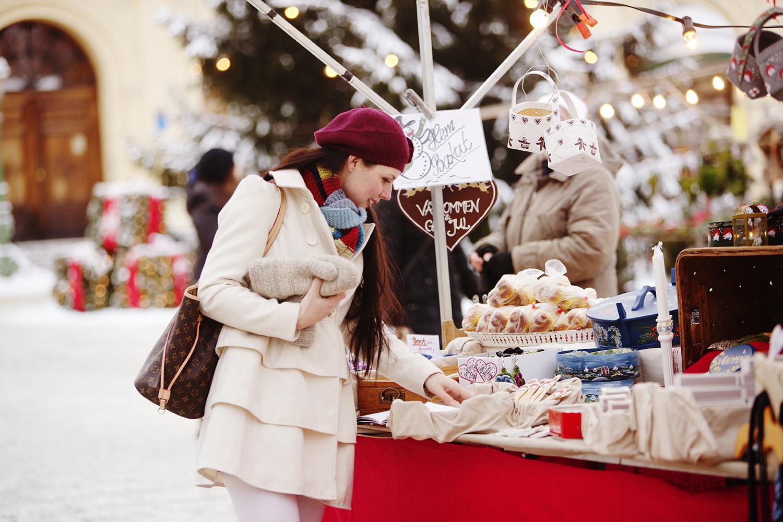 Julemarkedet i Karlstad åpner snart. Foto: Visit Värmland