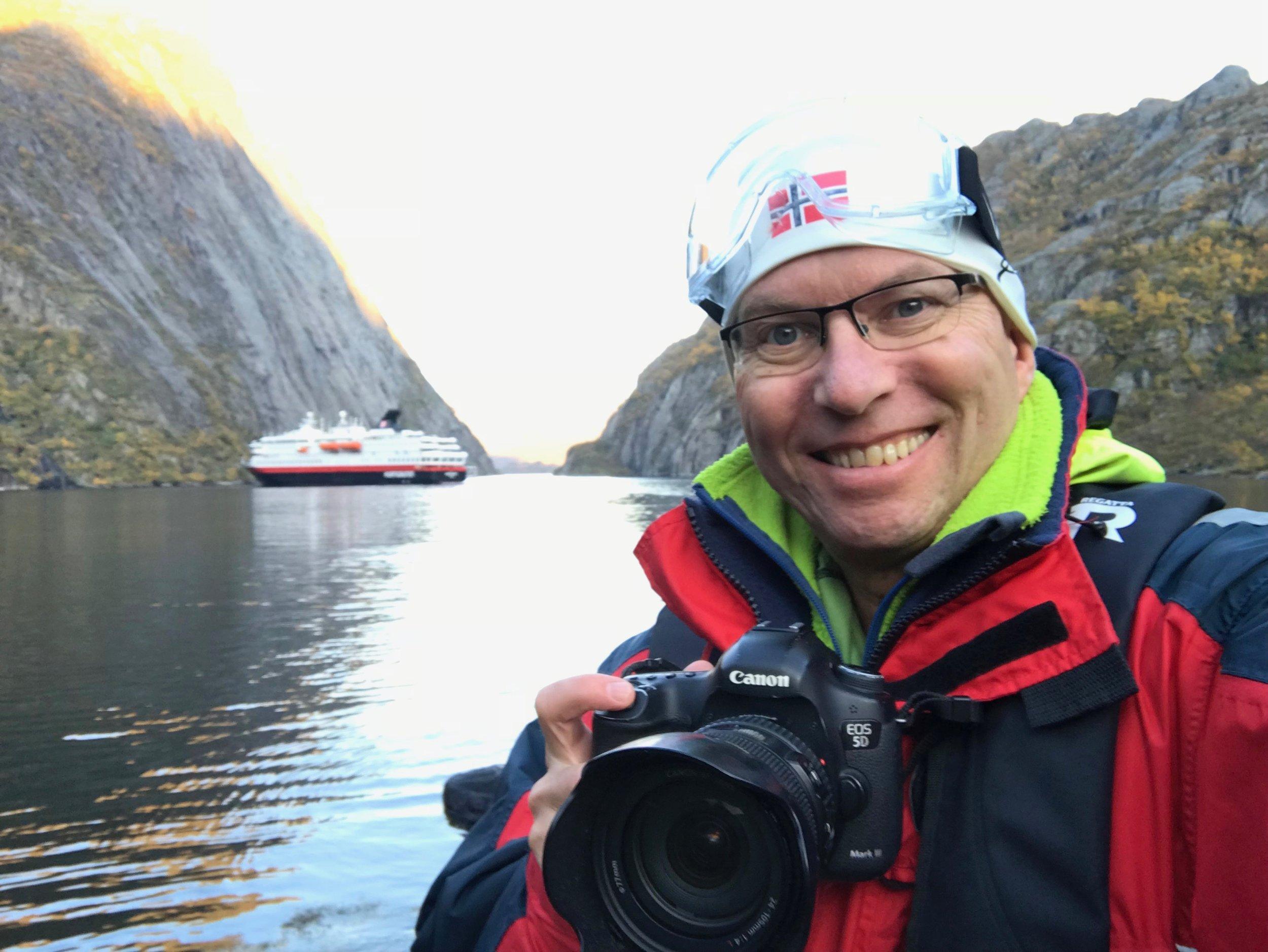 På noen av seilasene skal hybridskipene inn Trollfjorden. Foto: Odd Roar Lange