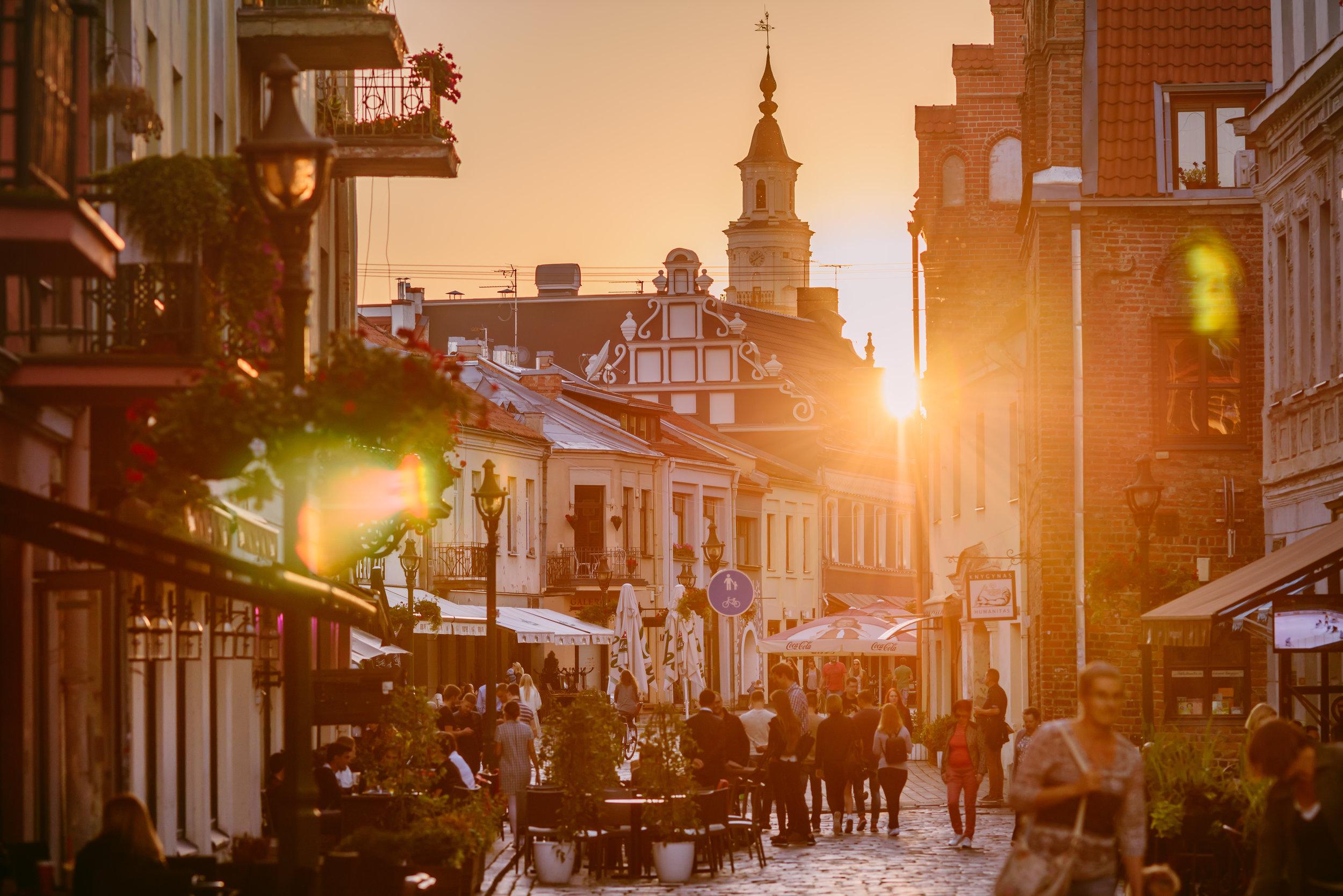 Kaunas er lett å besøke og lett å oppleve. Foto: Visit Litauen