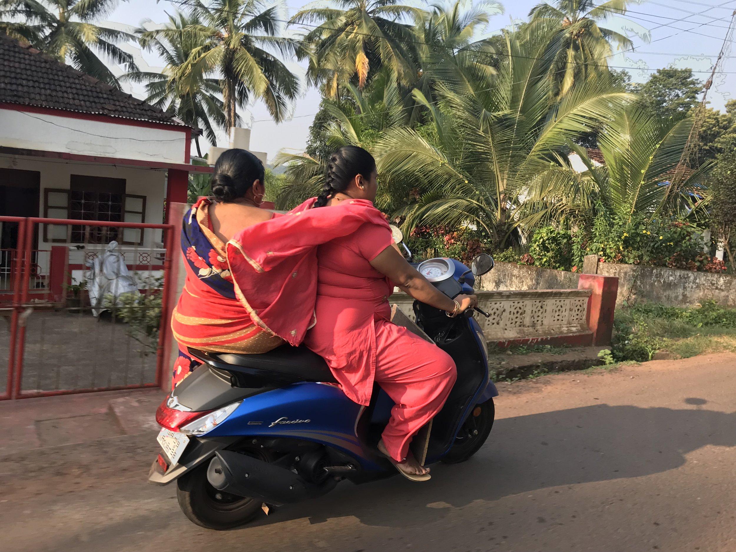 Mopedkjøring kan være livsfarlig i enkelte land.      Foto: Odd Roar Lange