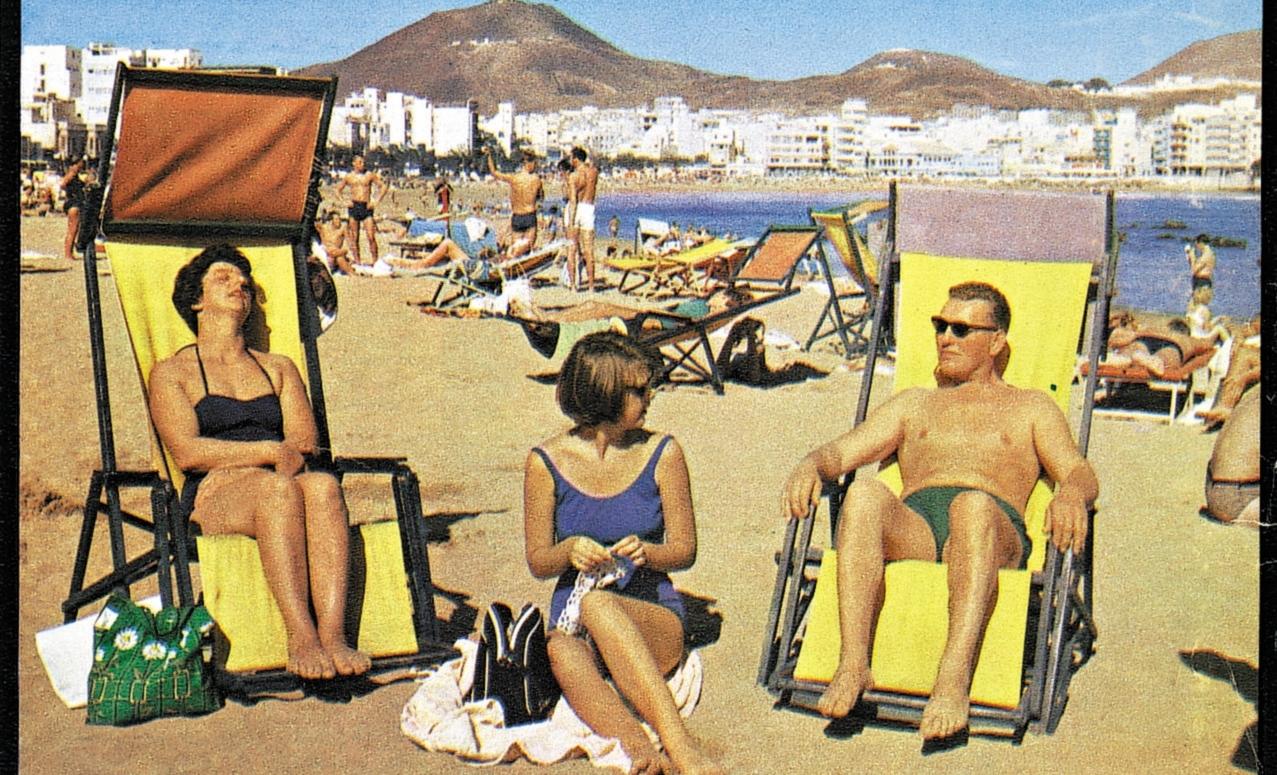 Charterturisme i «gamle dager». Foto: TUI