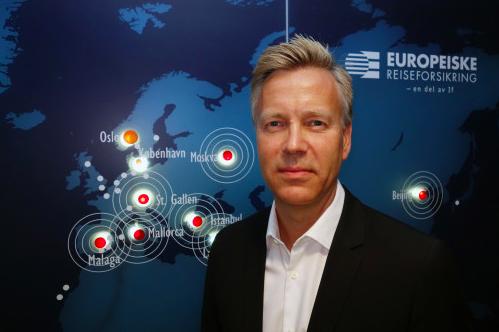 Jon Berge er informasjonsdirektør i If og Europeiske Reiseforsikring. (Foto: If)