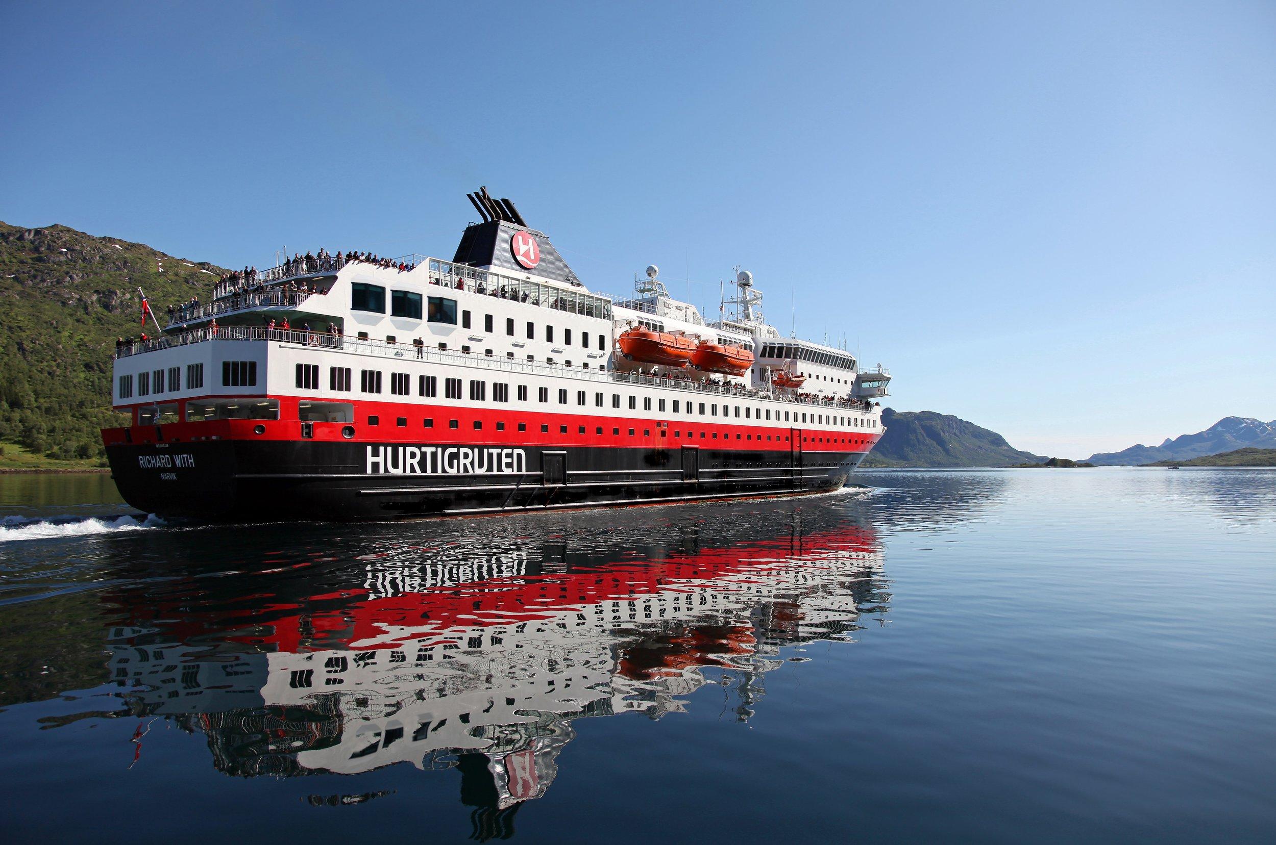 Velkjent skip skal pusses opp.                                                  Foto: Odd Roar Lange