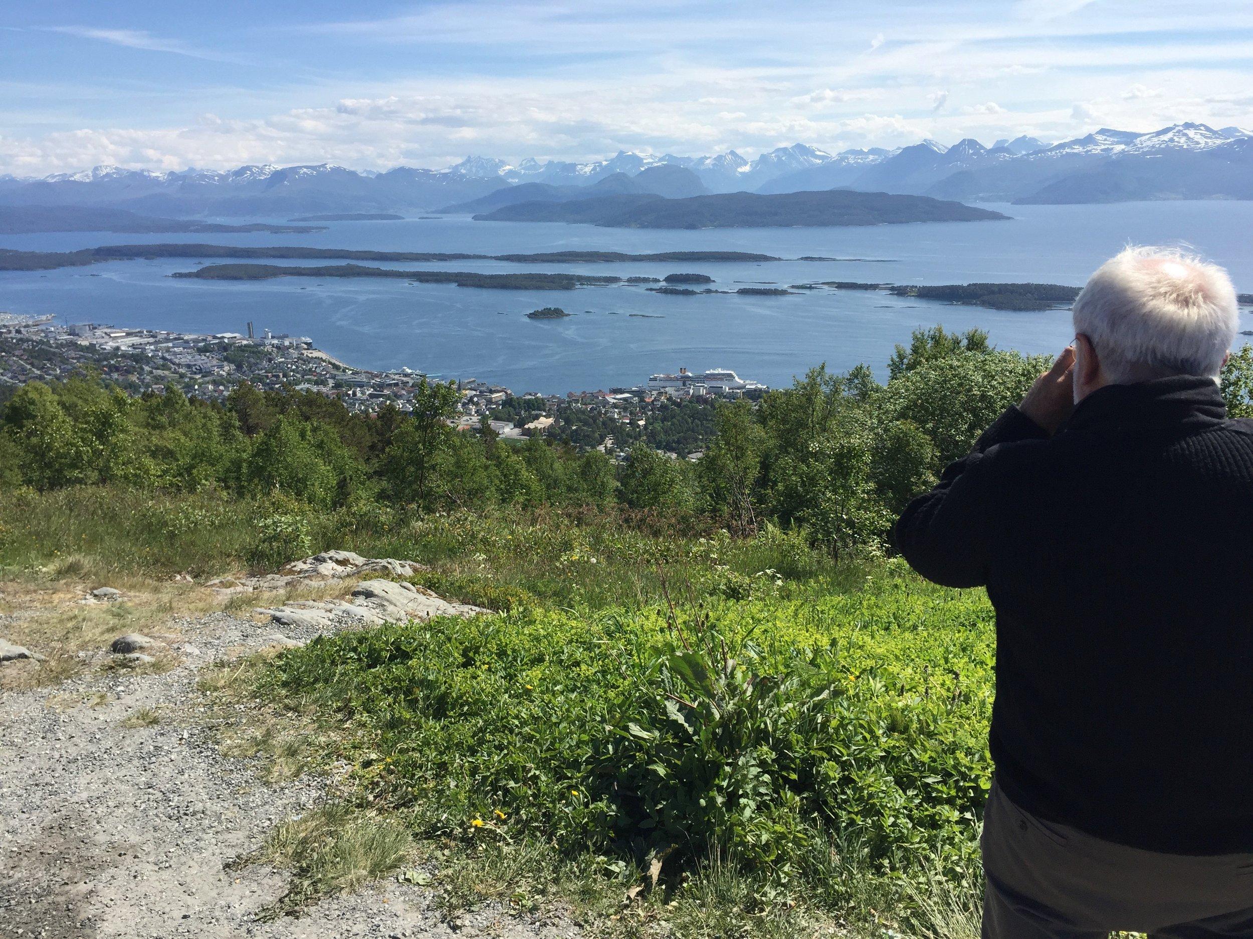 Fin utsikt, men er den i «verdensklasse»?                         Foto: Odd Roar Lange