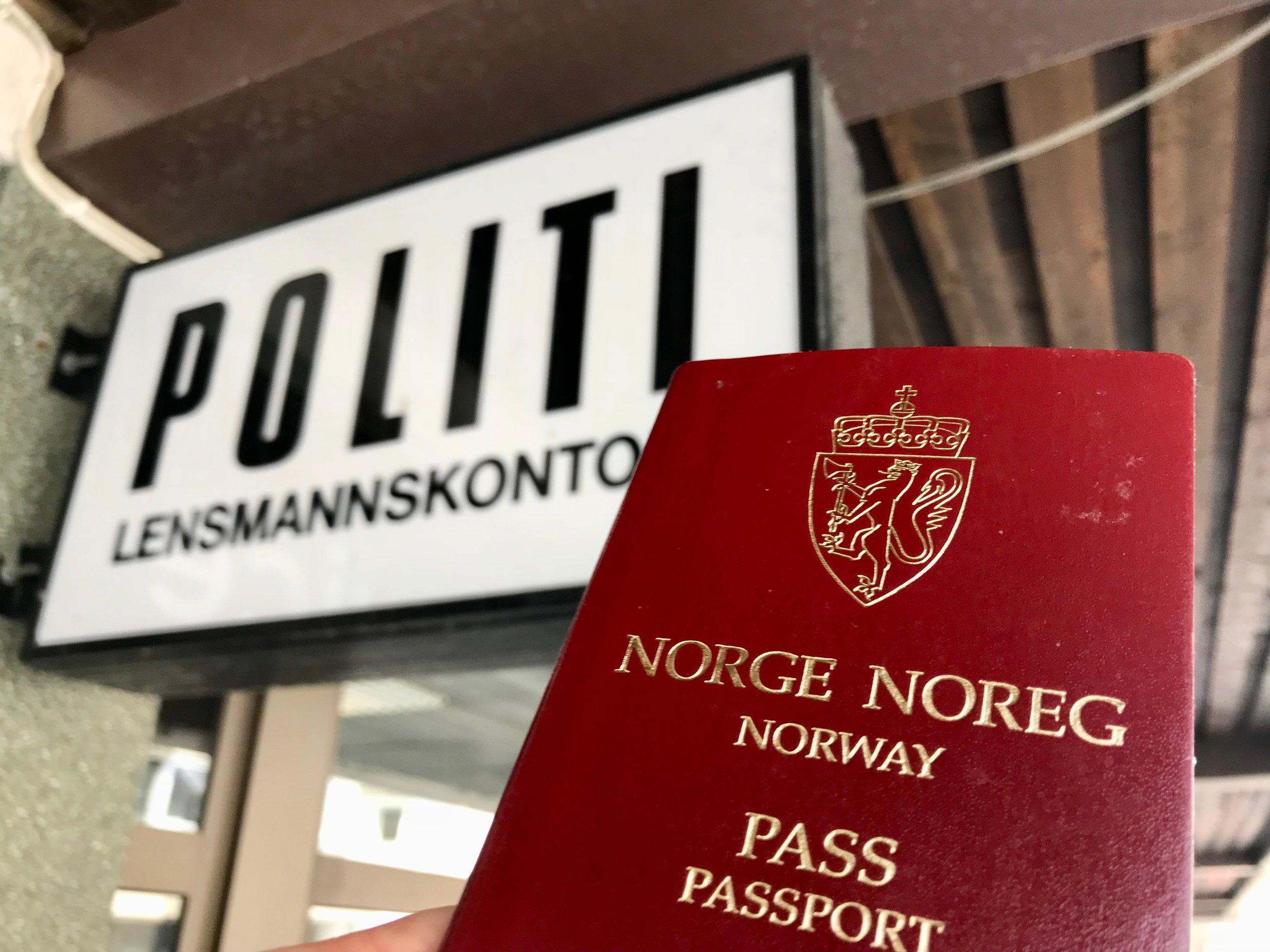 Dersom du ikke har kontroll på passet ditt så kan hele utenlandsturen gå i vasken. Foto: Odd Roar Lange