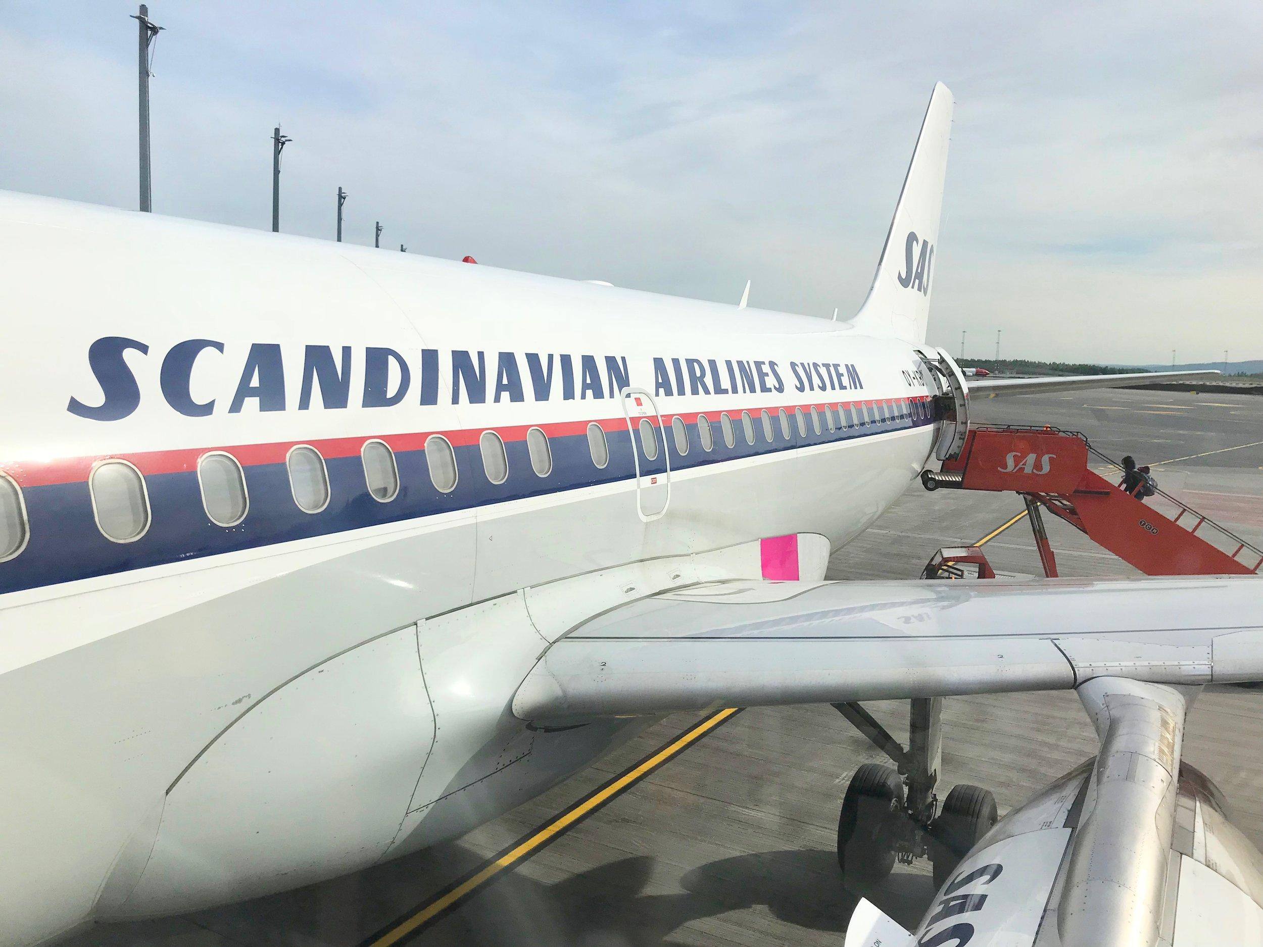 SAS er manges foretrukne flyselskap. Men ikke alle ansatte er like fornøyd med forholdene. Foto: Odd Roar Lange