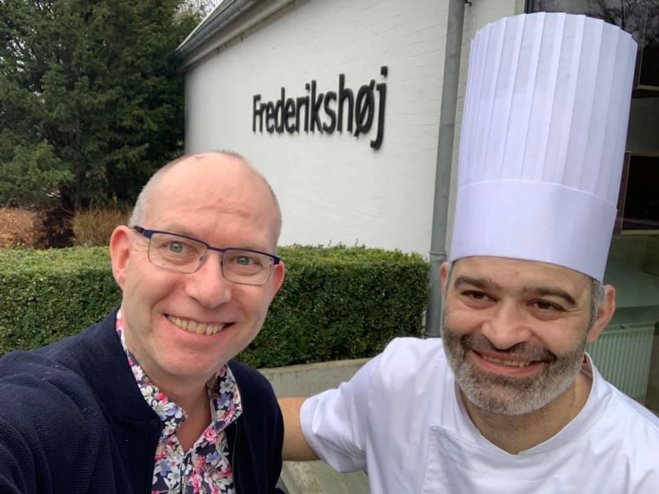 Wassim Hallal og Frederikshøj restaurant i Aarhus. Jeg besøkte ham dagen før årets stjerneutdeling, som før første gang ble holdt utenfor en hovedstad.