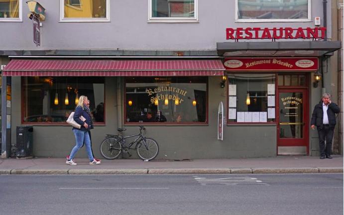 Restaurant Schrøder i Oslo Foto: VisitOslo