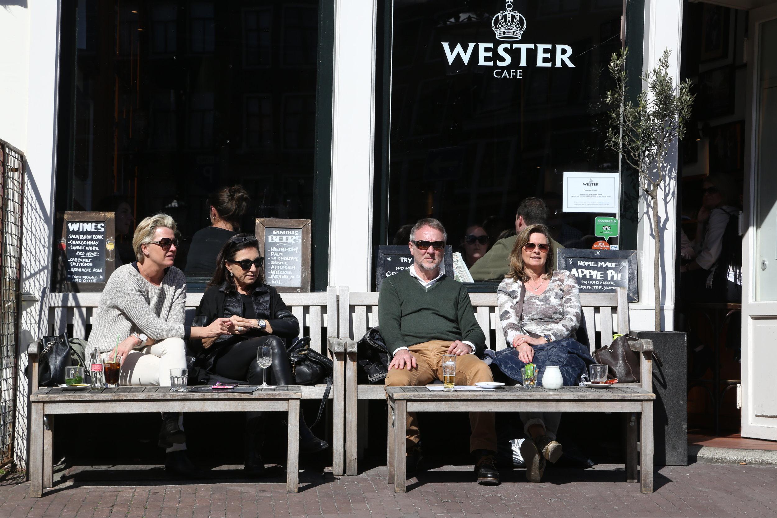 Nå kan du nyte våren i Amsterdam Foto: Odd Roar Lange