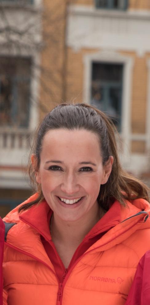 Daglig leder i Norwegian Adventure Company, Nina Kristine Madsen-Geelmuyden