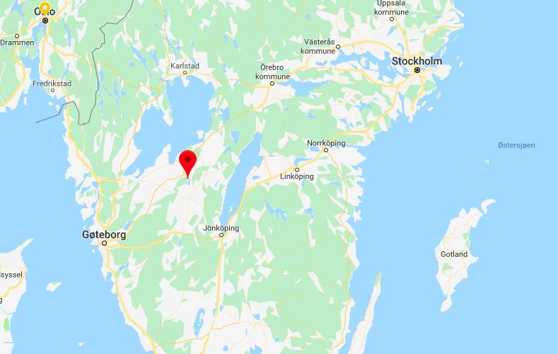 Her finner du Hornborgasjöns naturreservat