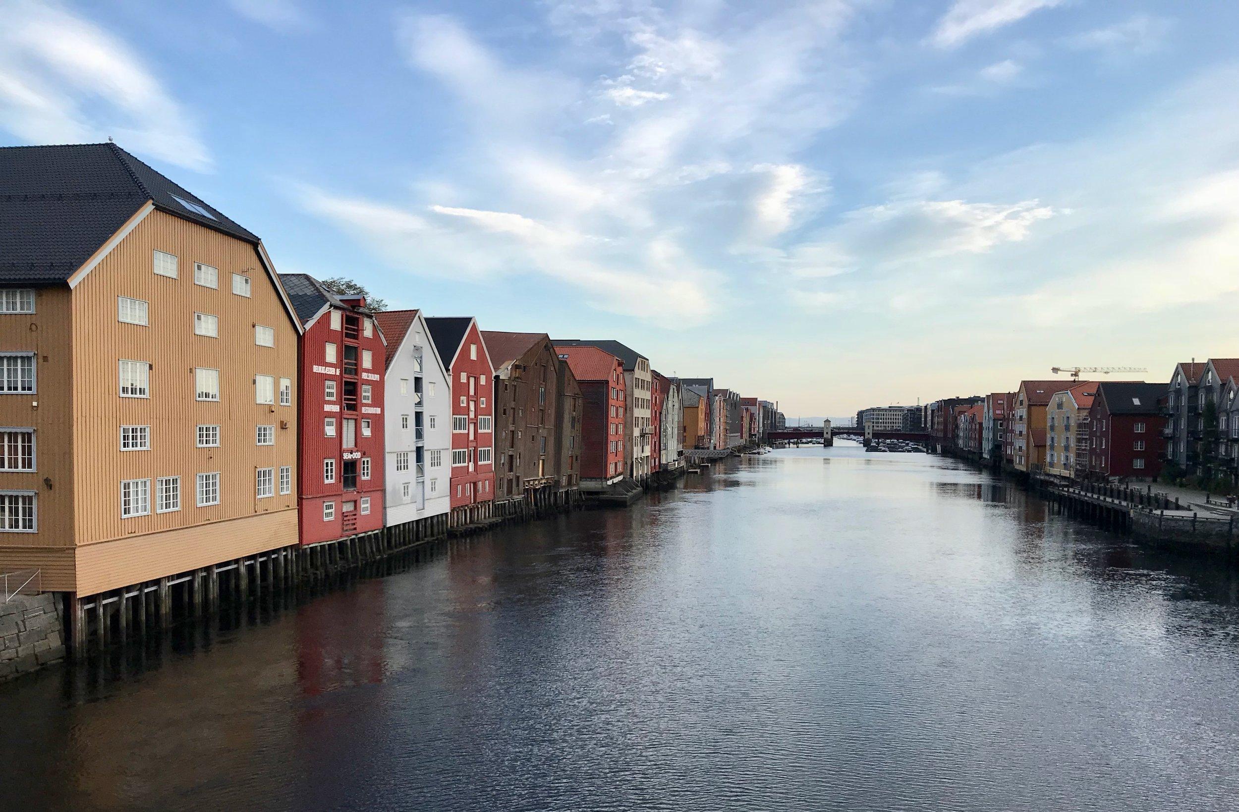 Vakre Trondheim blir arrangør av neste års Norwegian Travel Workshop. Foto: Odd Roar Lange