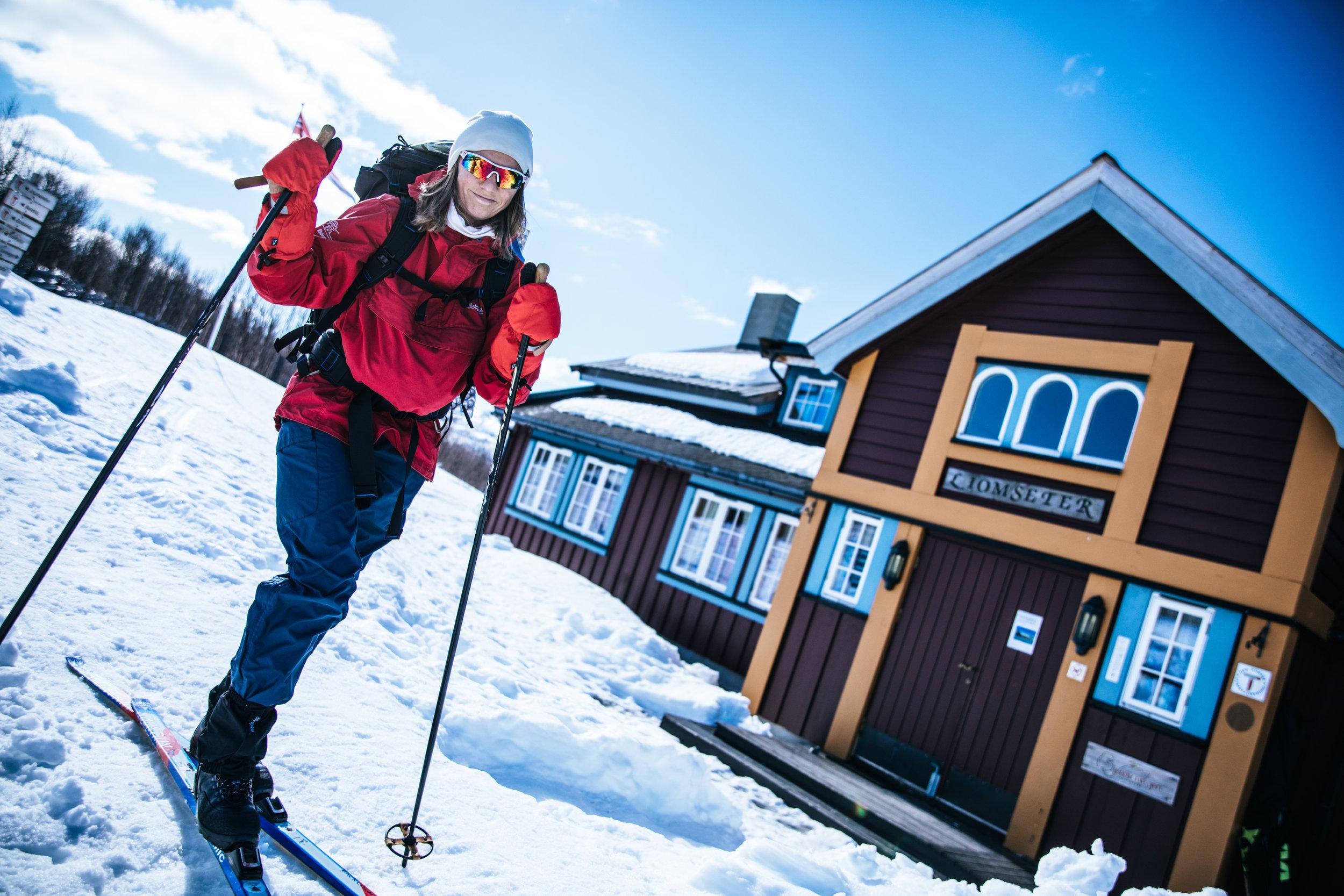 Mange unge har gledet seg i fjellet i påsken. Foto: Eivind Haugstad Kleiven/Turistforeningen