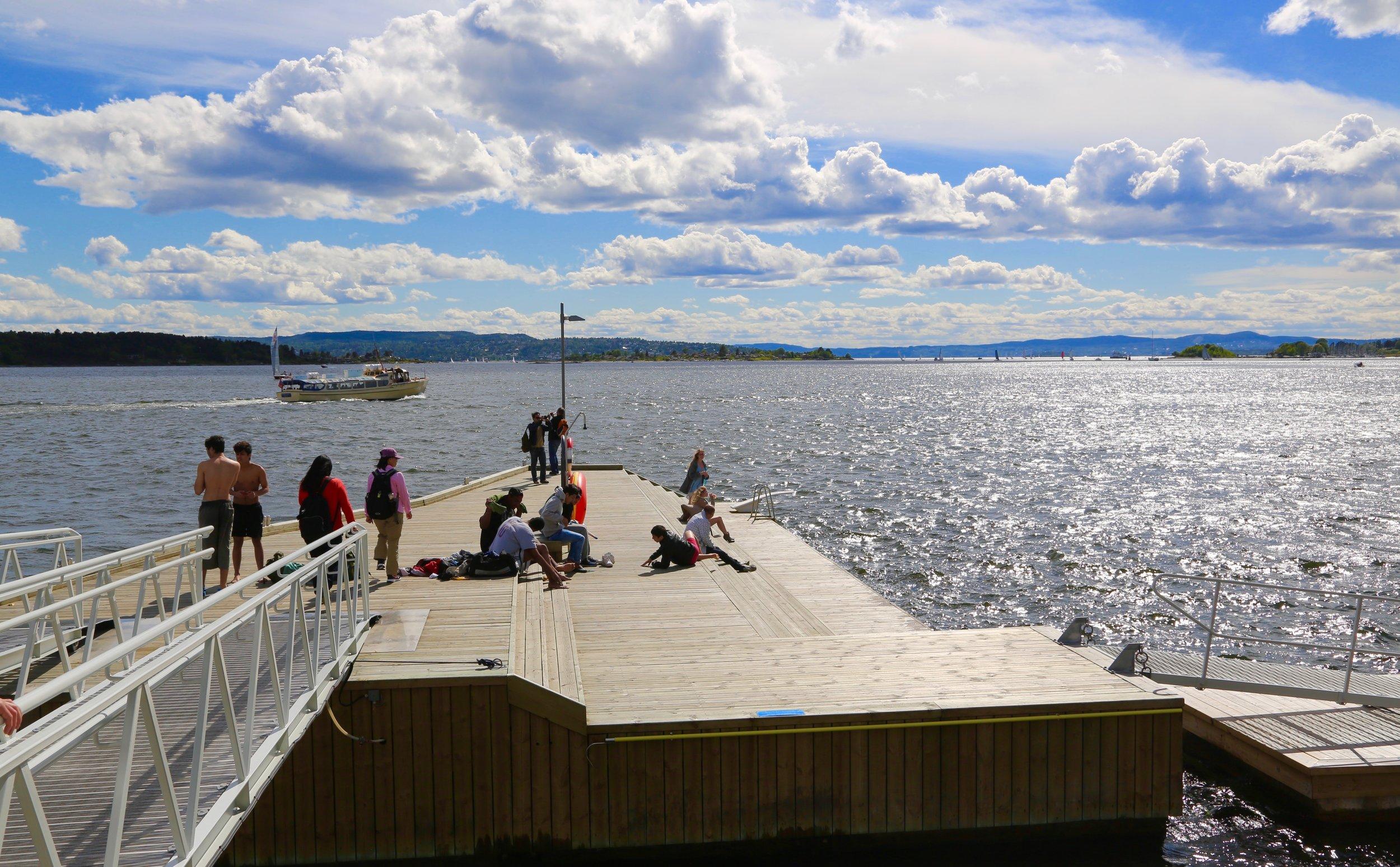 Gode opplevelser til vanns til lands i Oslo.                                           Foto: Odd Roar Lange