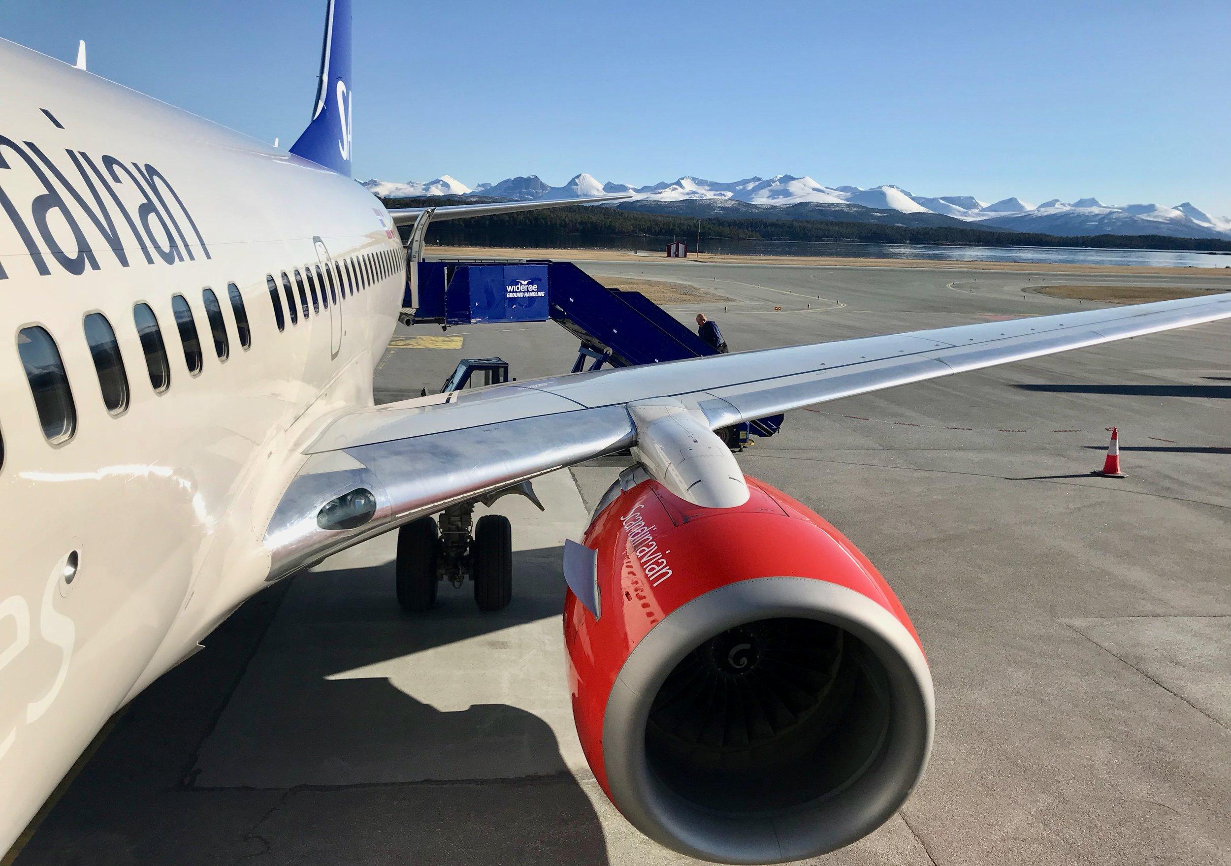 SAS kan bli rammet av streik. Da er det greit å vite hvilke fly som flyr og hvilke som rammes av streiken. Foto: Odd Roar Lange