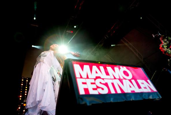 Malmöfestivalen. Foto: Sanna Dolck