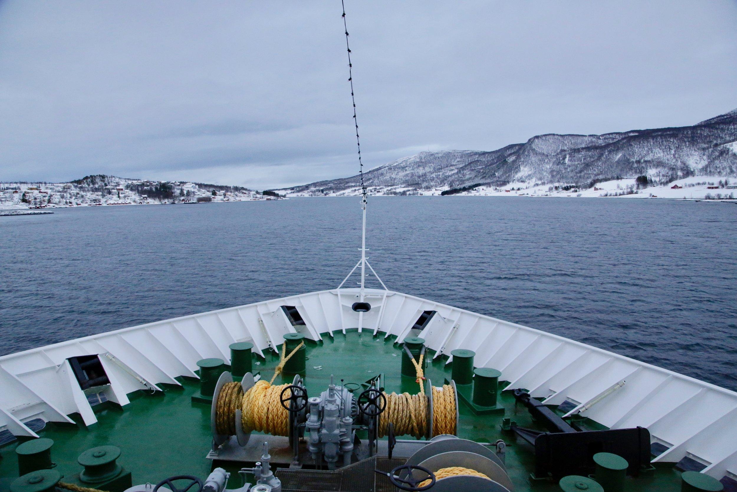 Hurtigruten og flere norske reiselivsbedrifter scorer høyt. Foto: Odd Roar Lange