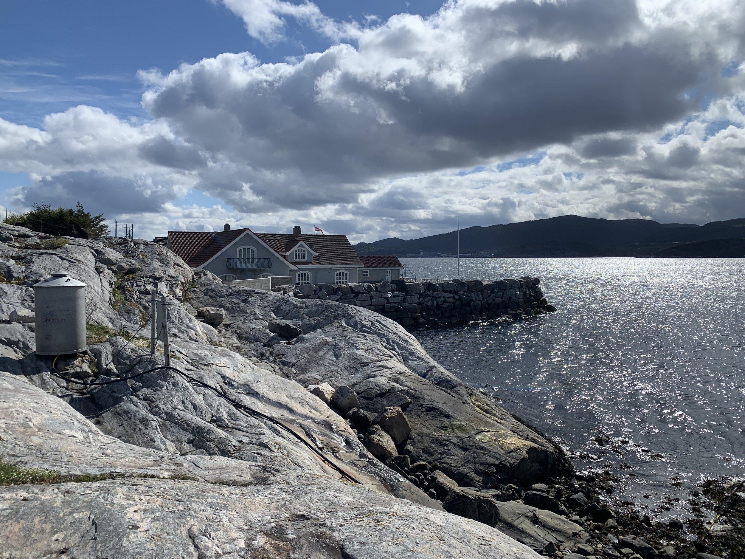 Drømmeboligen i Bryggekanten 21 var først bolig for Solskjærfamilien før den ble utleid til trenerkollegaen.  Foto: Odd Roar Lange