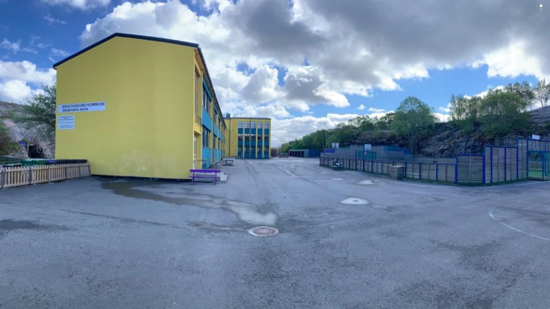 Dalabrekka skole. Foto: Odd Roar Lange