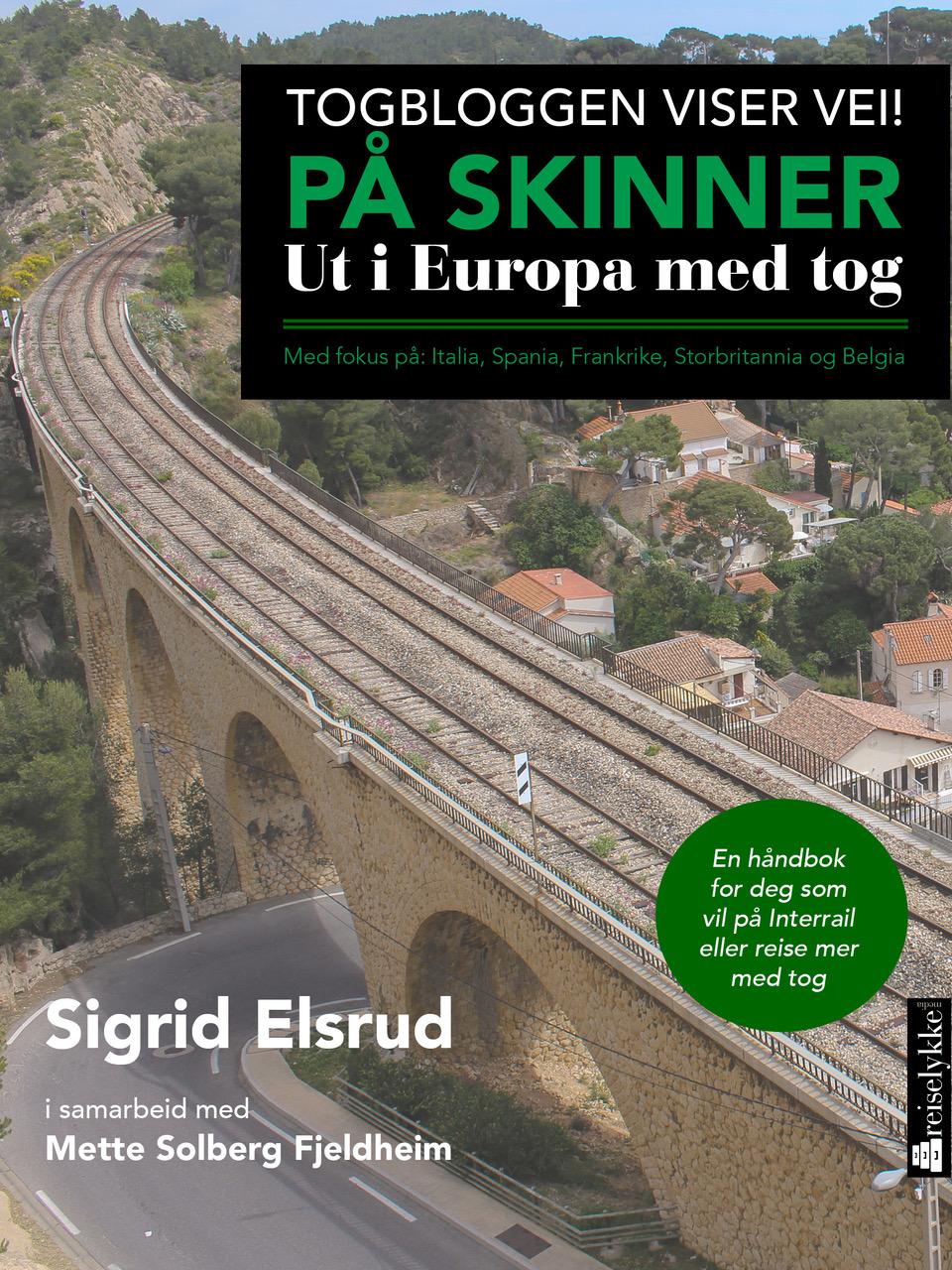 På skinner. Ut i Europa med tog_forside.jpeg