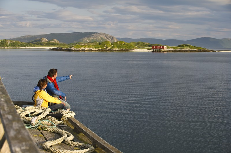 Sommarøy i Troms. Foto: CH/Visit Norway