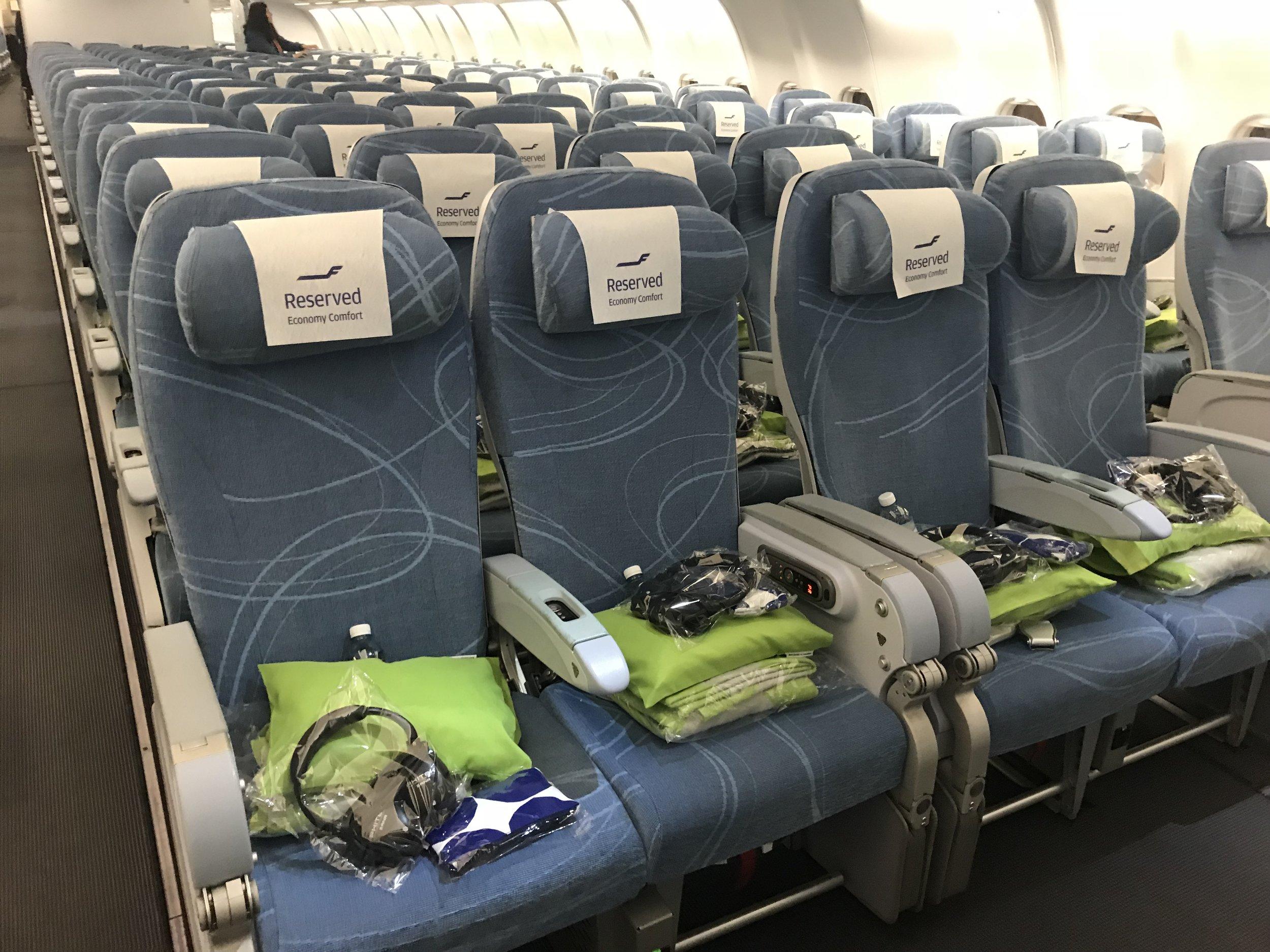 Hva har du med deg inn på flyet?                                                           Foto: Odd Roar Lange