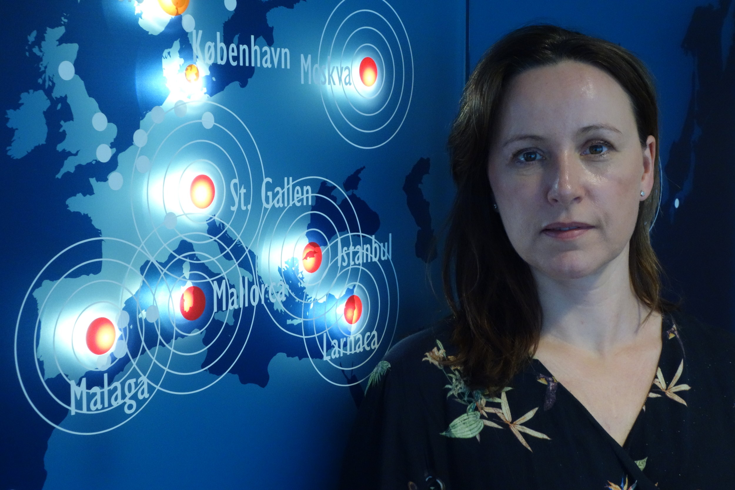 Medisinsk rådgiver og sykepleier Line Sørbø i Europeiske Reiseforsikring