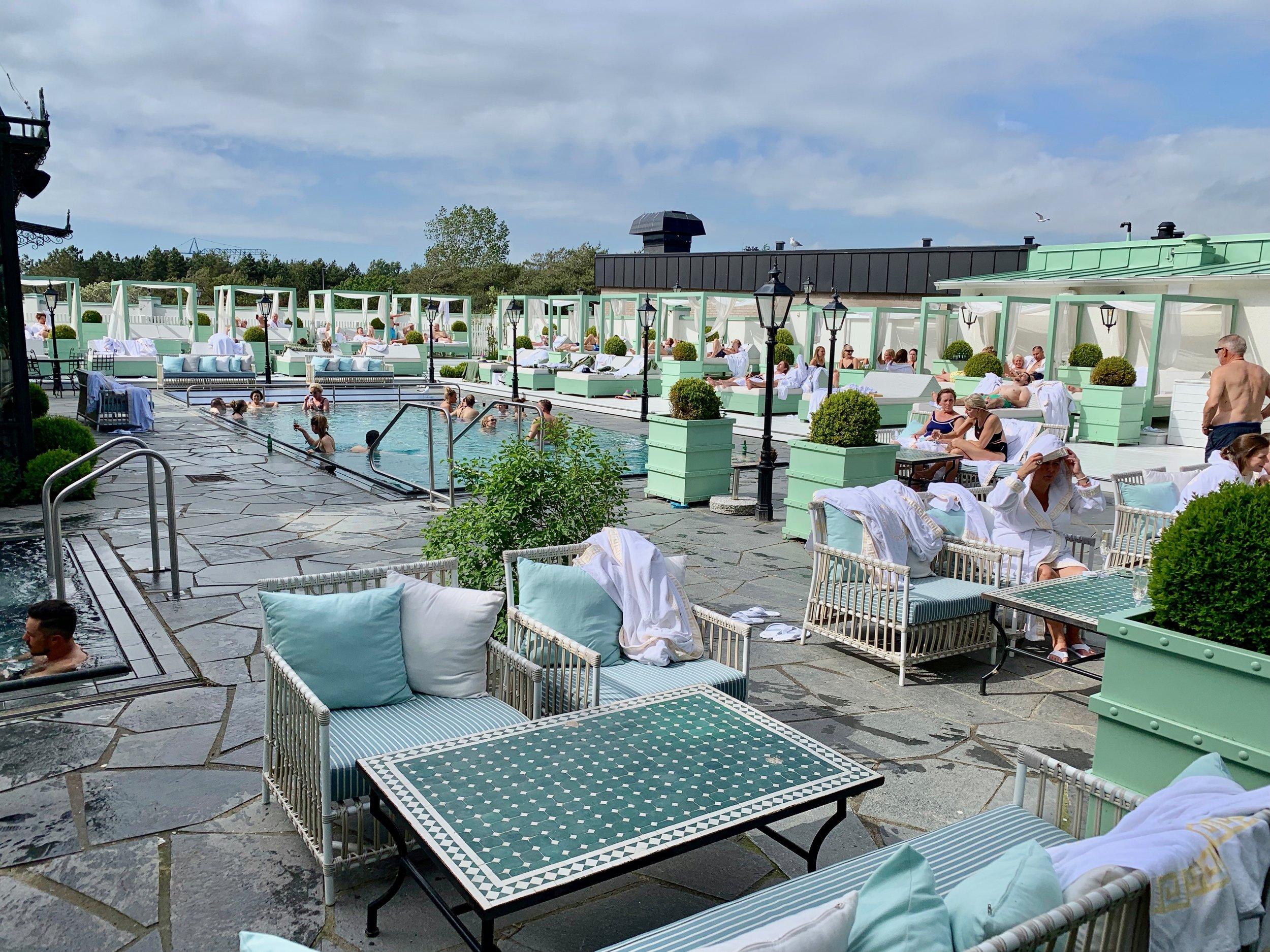 Spaanlegget i Falkenberg strandbad er i verdensklasse. Foto: Odd Roar Lange