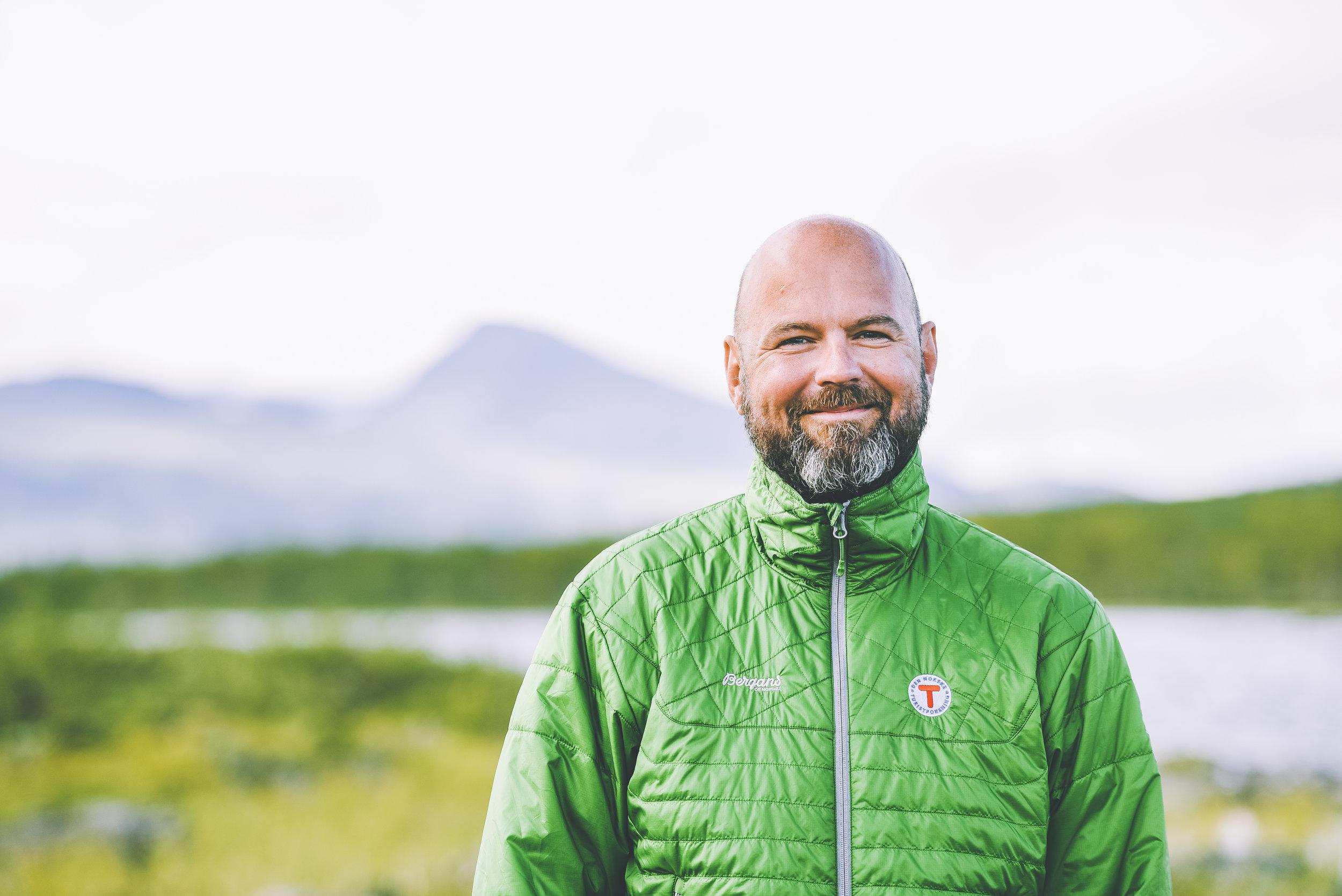 Generalsekretær i DNT, Dag Terje Klarp Solvang. Foto: Turistforeningen