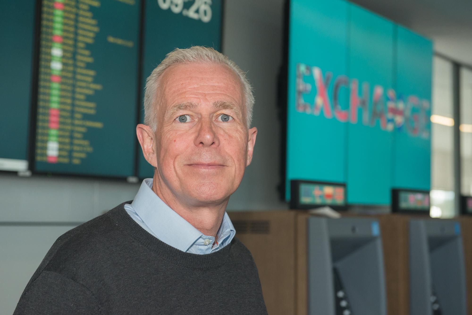 Arne Voll som er kommunikasjonssjef i Gjensidige.