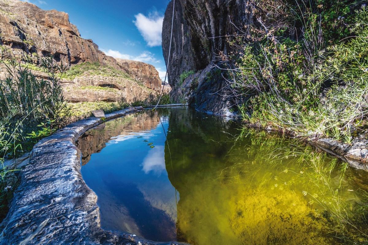Risco Caido og de hellige fjellene i Gran Canaria kulturlandskap i Spania. Foto: Unesco
