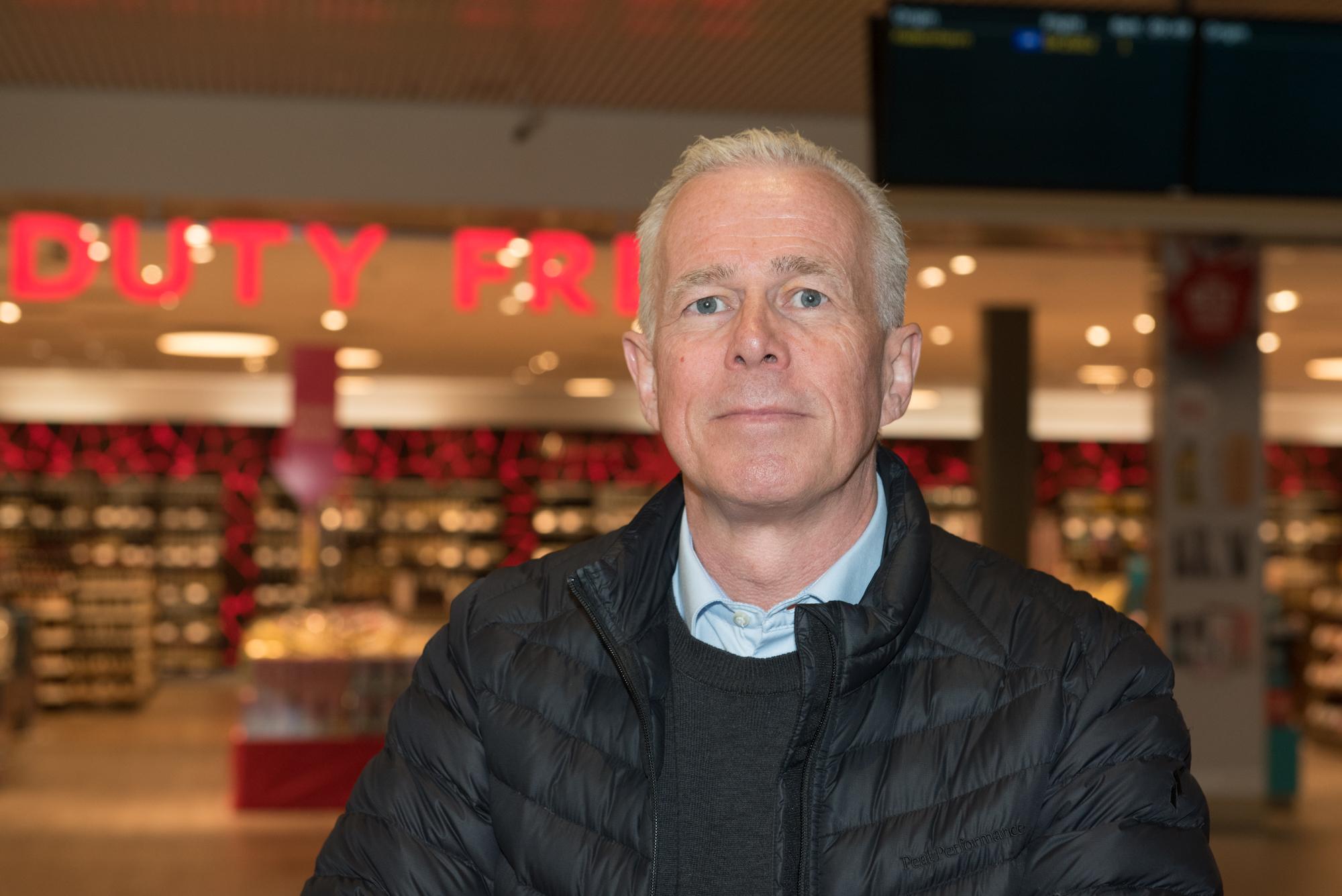 Arne Voll, kommunikasjonssjef i Gjensidige Forsikring