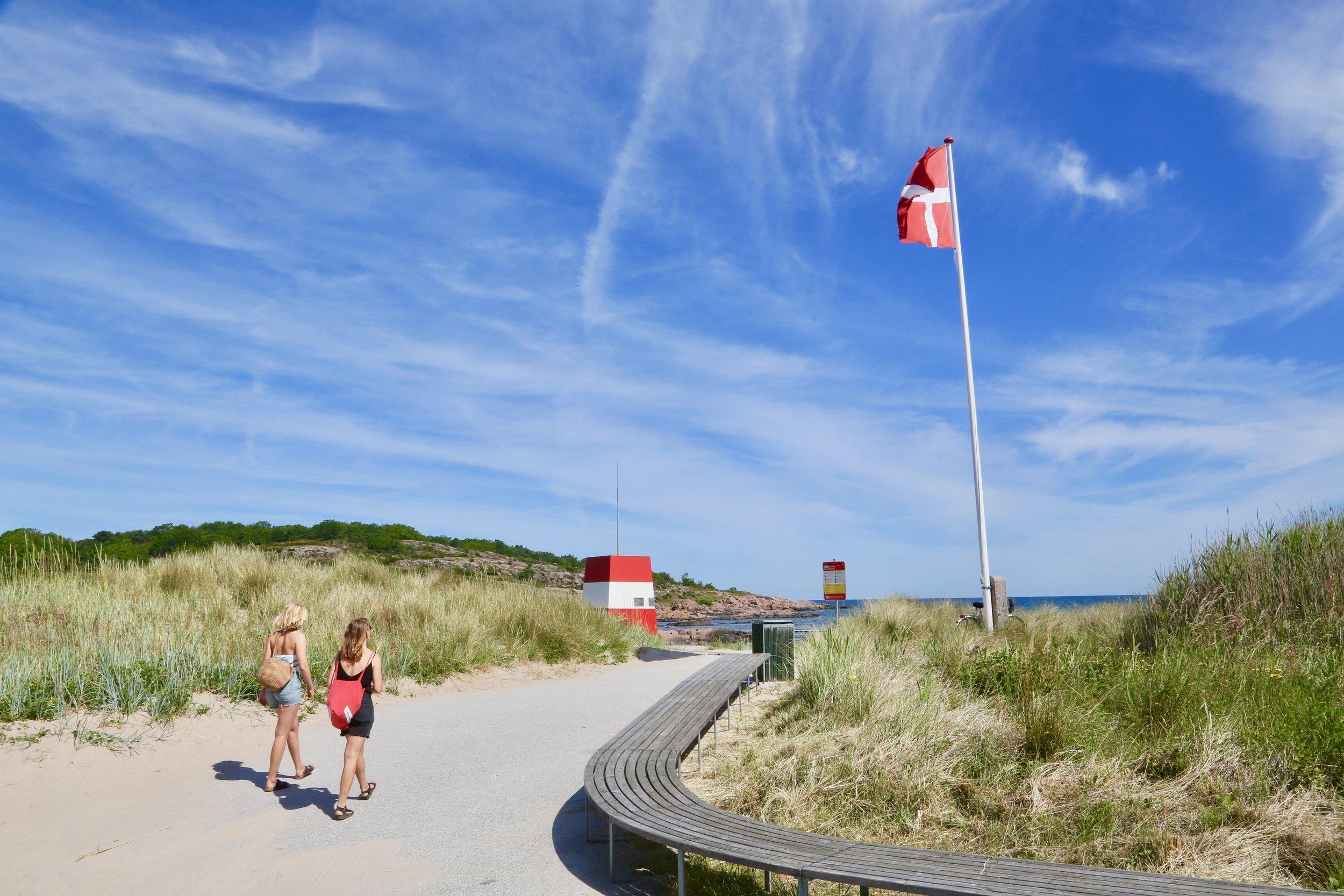 Dra på badeferie til Bornholm i høst. Det er billig - og veldig bra. Alle bilder: Odd Roar Lange