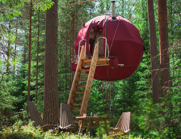 Supermånen i Dalarna. Foto: Ingeborg Lindseth/Hamacareiser/Visitsweden