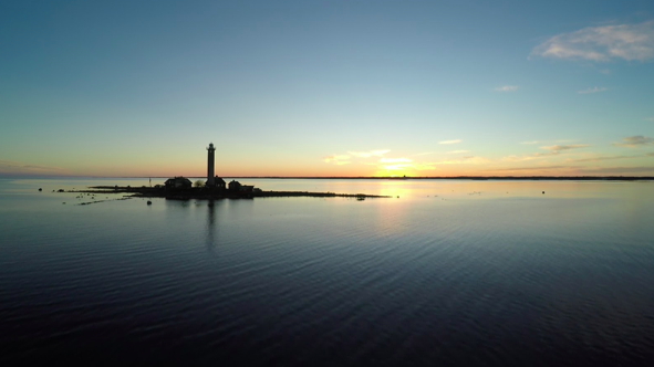 Garpen fyr i Kalmar len. Foto: Garpen Fyr