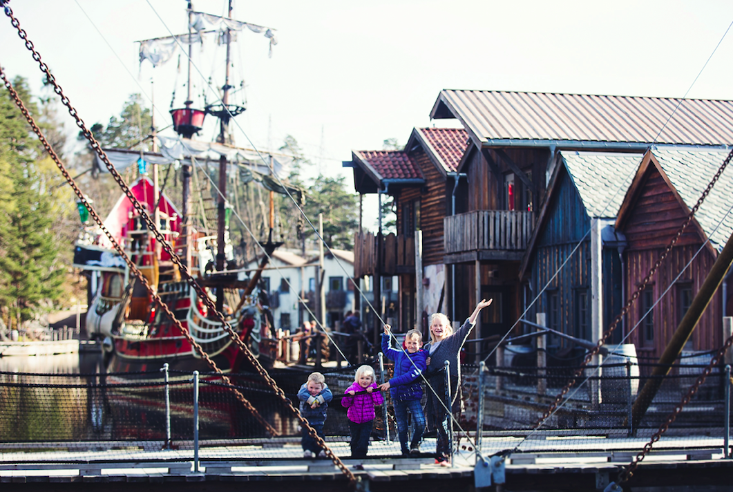 Velkommen til Abra Havn. Foto: Lisbeth Finsådal/Visit Sørlandet