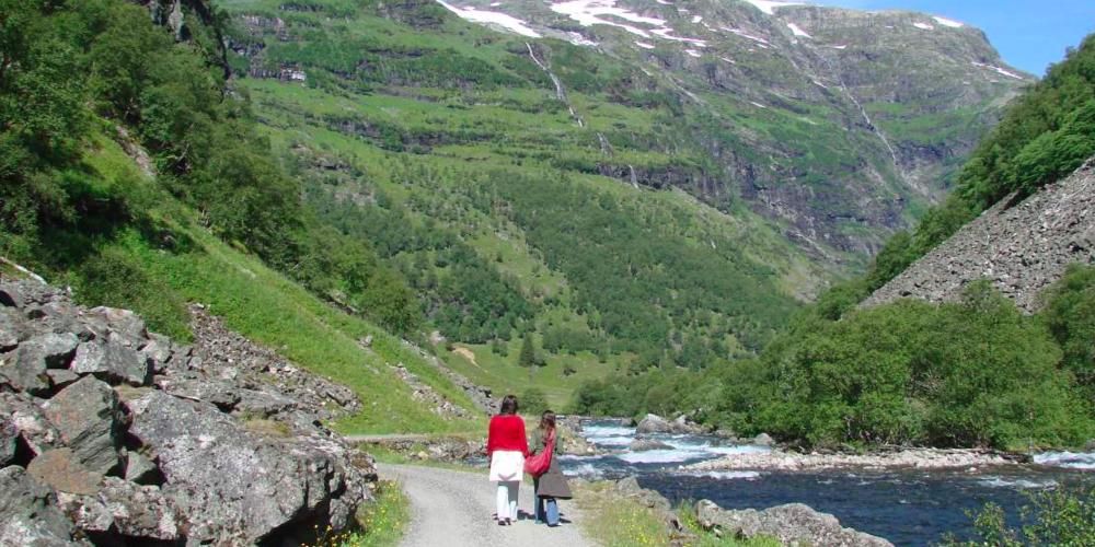 Fottur på Vestlandet. Foto: VisitNorway