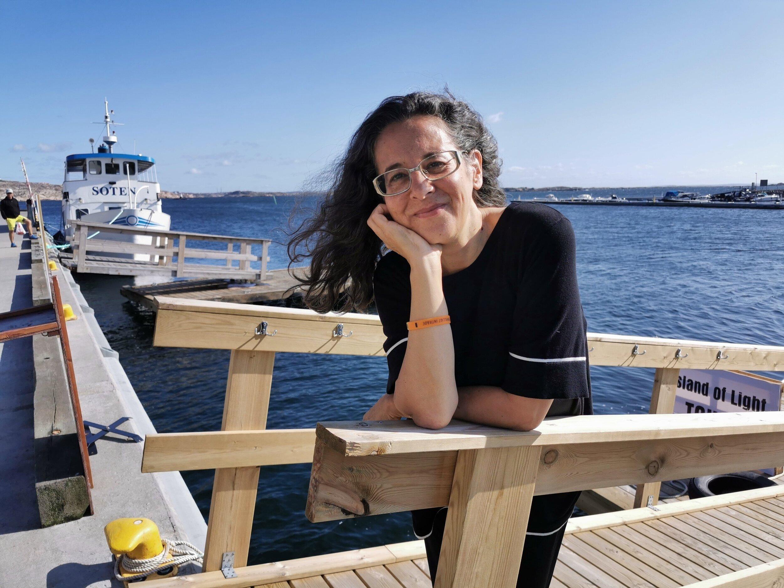 Dulce Ahlberg, lyskunstfestivalen i Smögen
